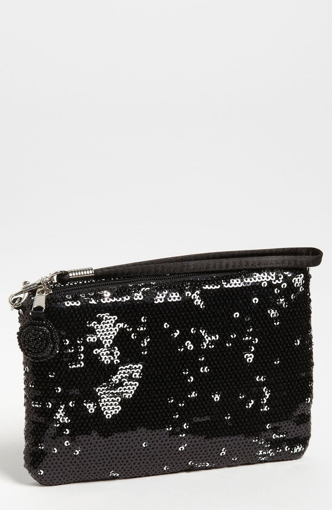 Alternate Image 1 Selected - Capelli of New York Two Tone Sequin Wristlet (Girls)