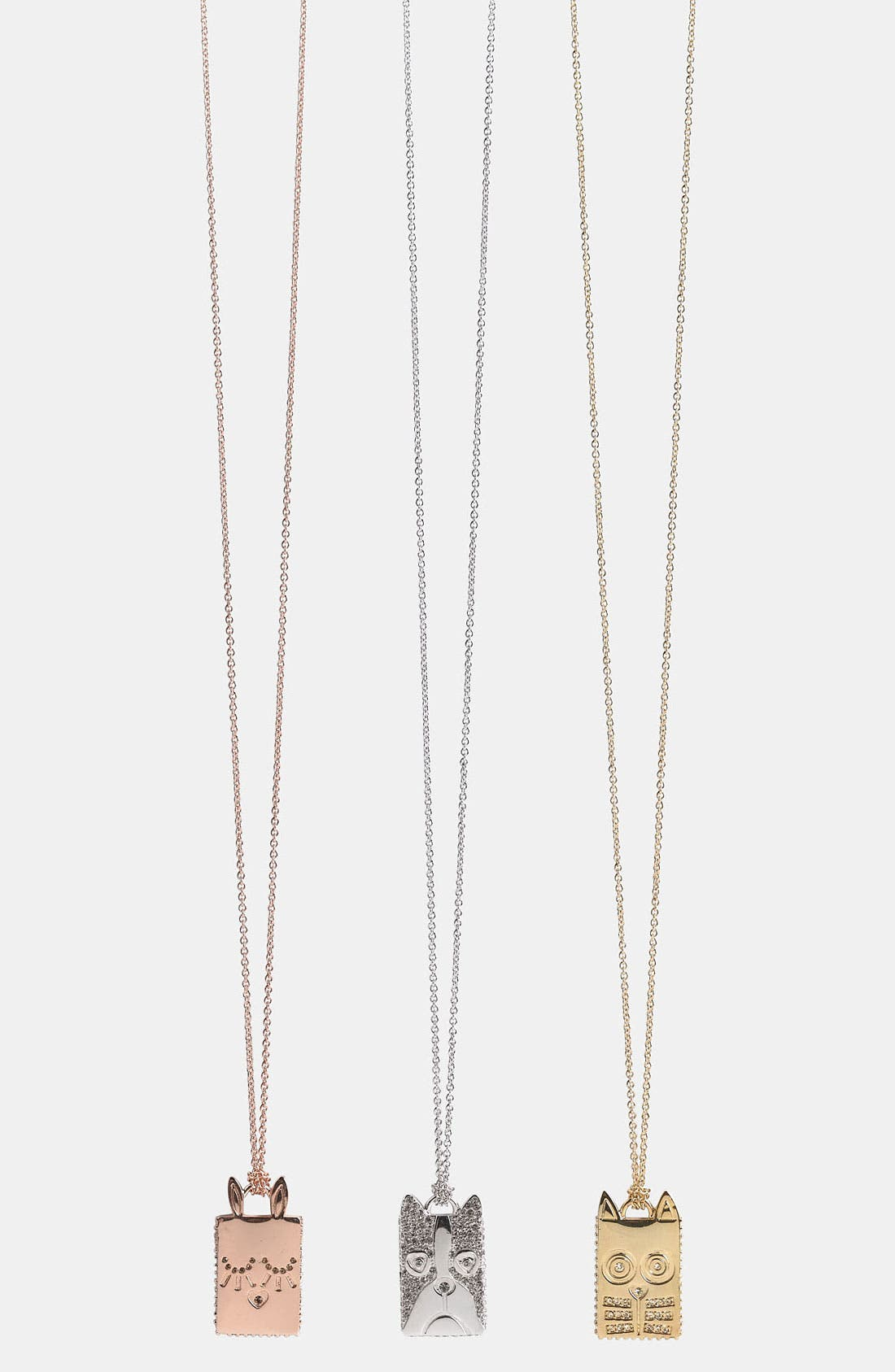 Alternate Image 1 Selected - MARC BY MARC JACOBS 'Animalia' Pendant Necklace