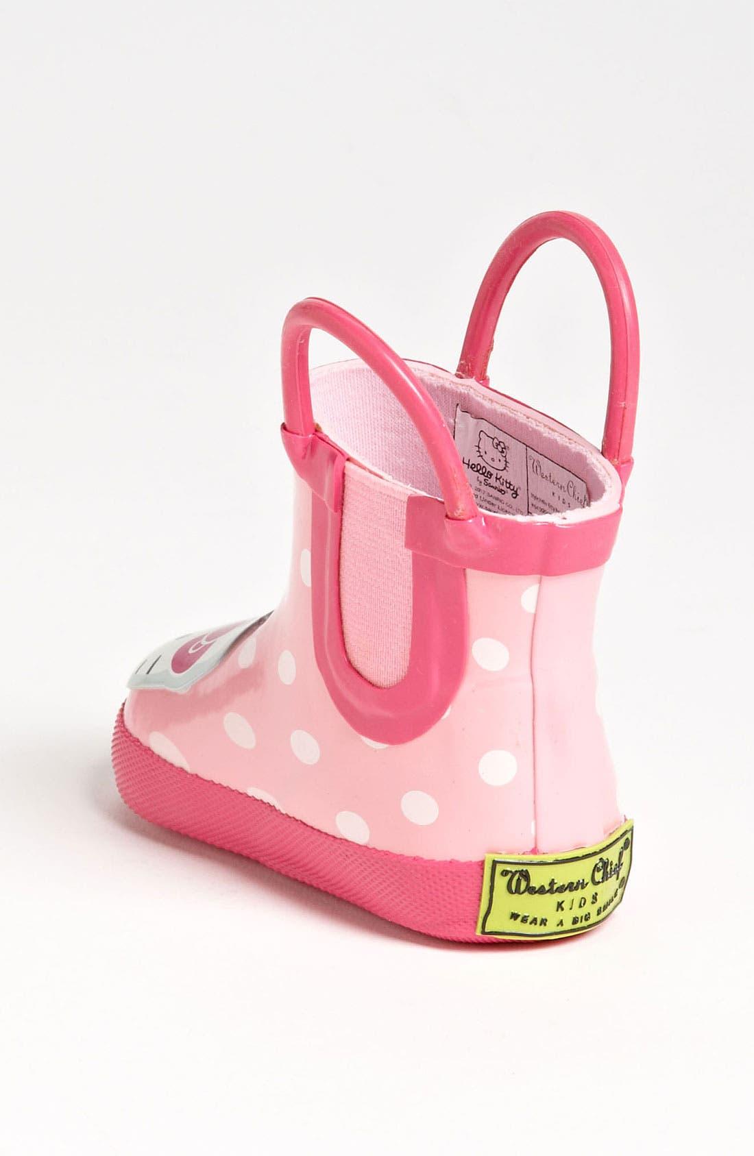 Alternate Image 2  - Western Chief 'Hello Kitty®' Rain Boot (Baby)