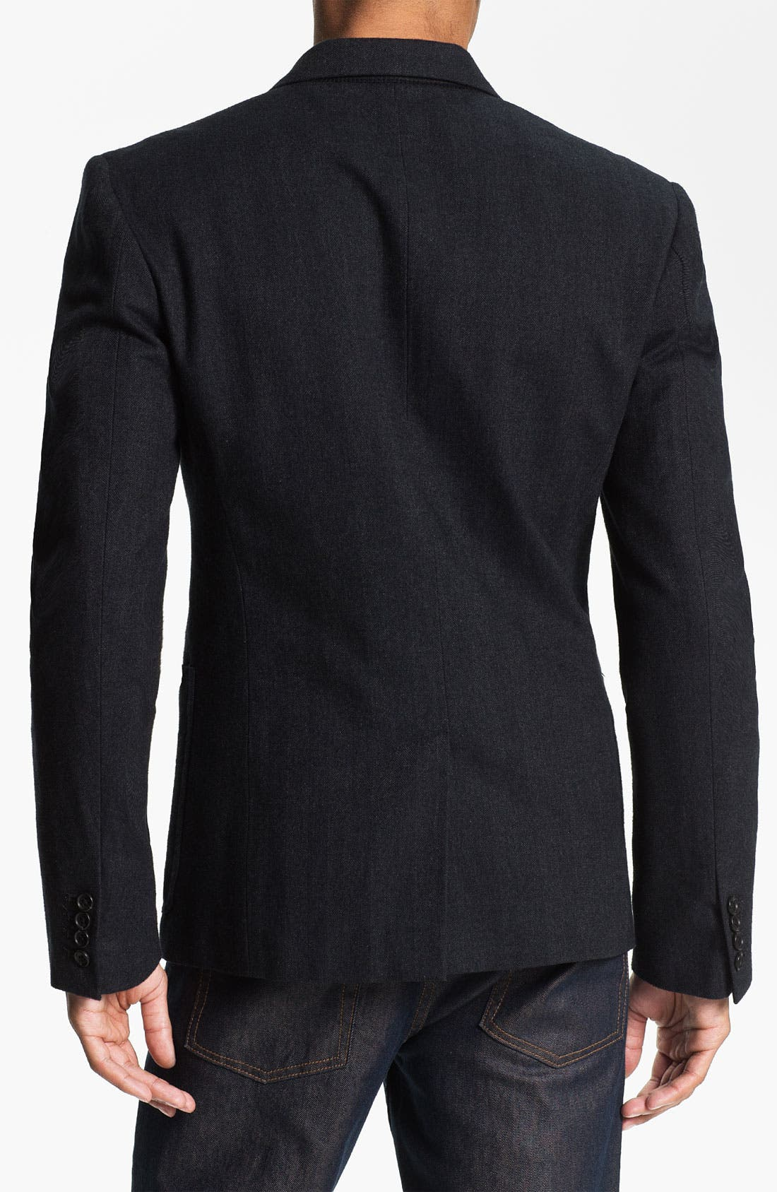Alternate Image 2  - MARC BY MARC JACOBS 'Drake' Herringbone Cotton Blazer