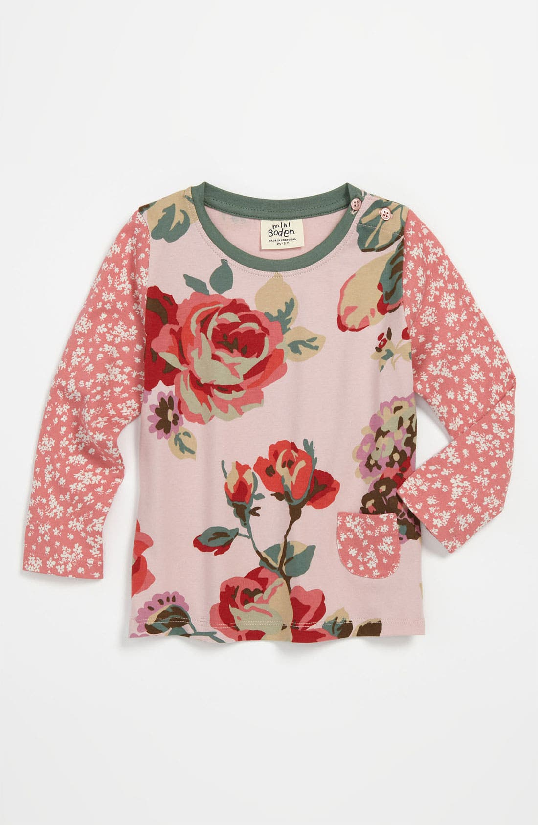 Main Image - Mini Boden 'Hotchpotch' Tee (Toddler)