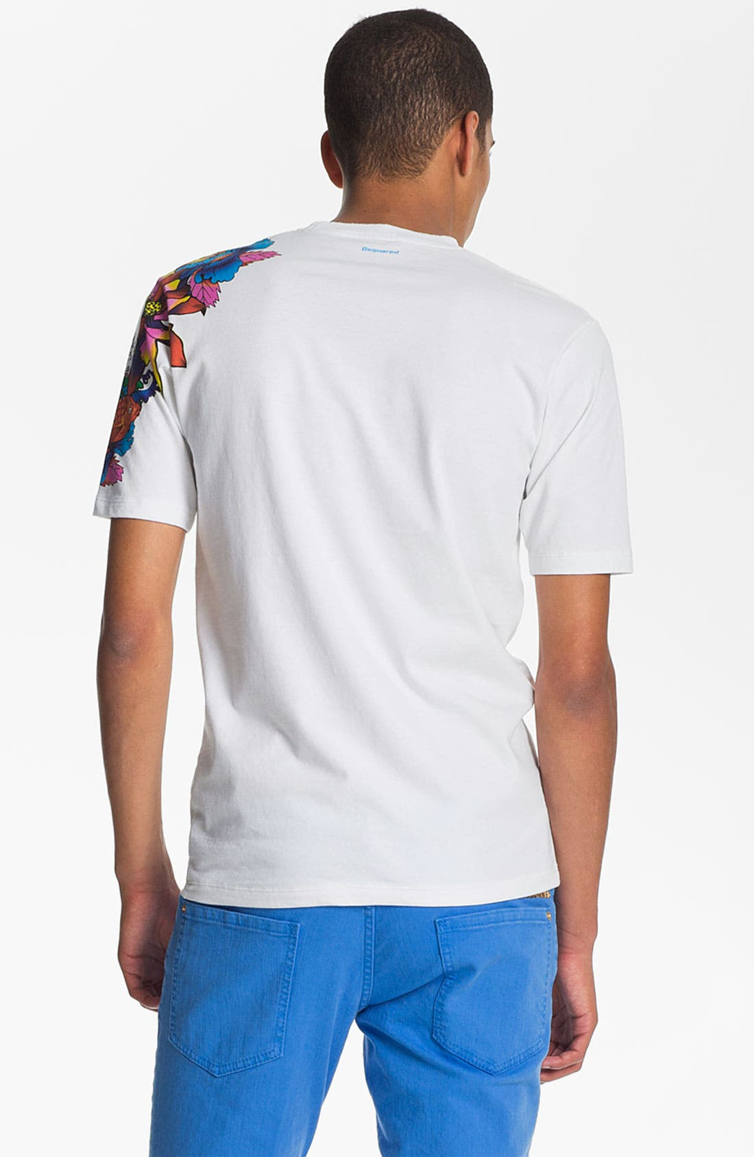 Alternate Image 2  - Dsquared2 'Tattoo Sleeve' Graphic T-Shirt