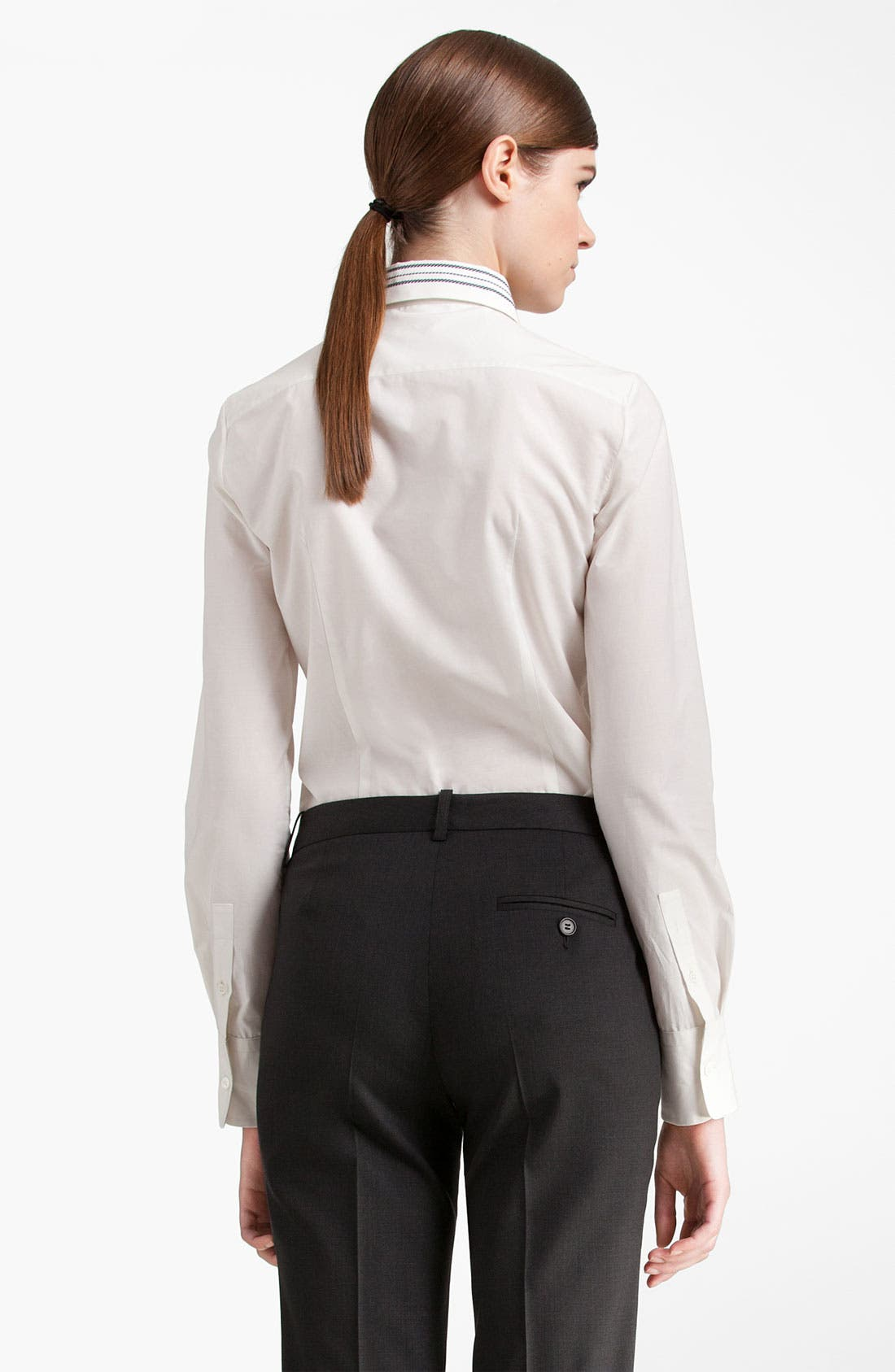 Alternate Image 2  - Jil Sander Navy Stripe Collar Shirt