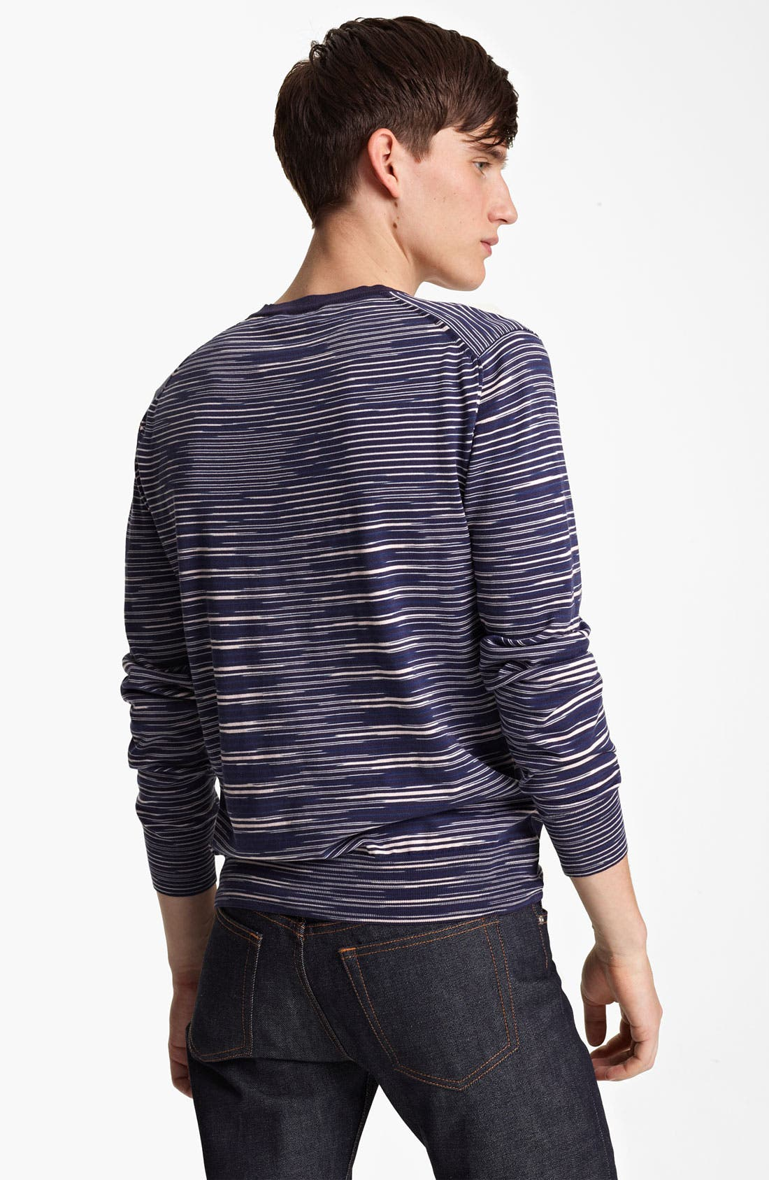 Alternate Image 2  - Missoni Space Dyed Stripe V-Neck Sweater