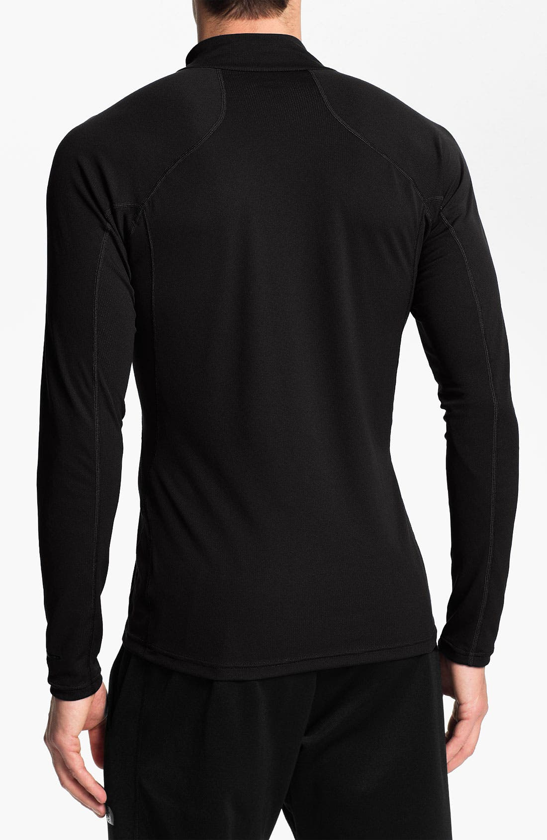 Alternate Image 2  - The North Face 'Baselayer - Light' FlashDry™ Technical Zip Neck T-Shirt (Online Only)