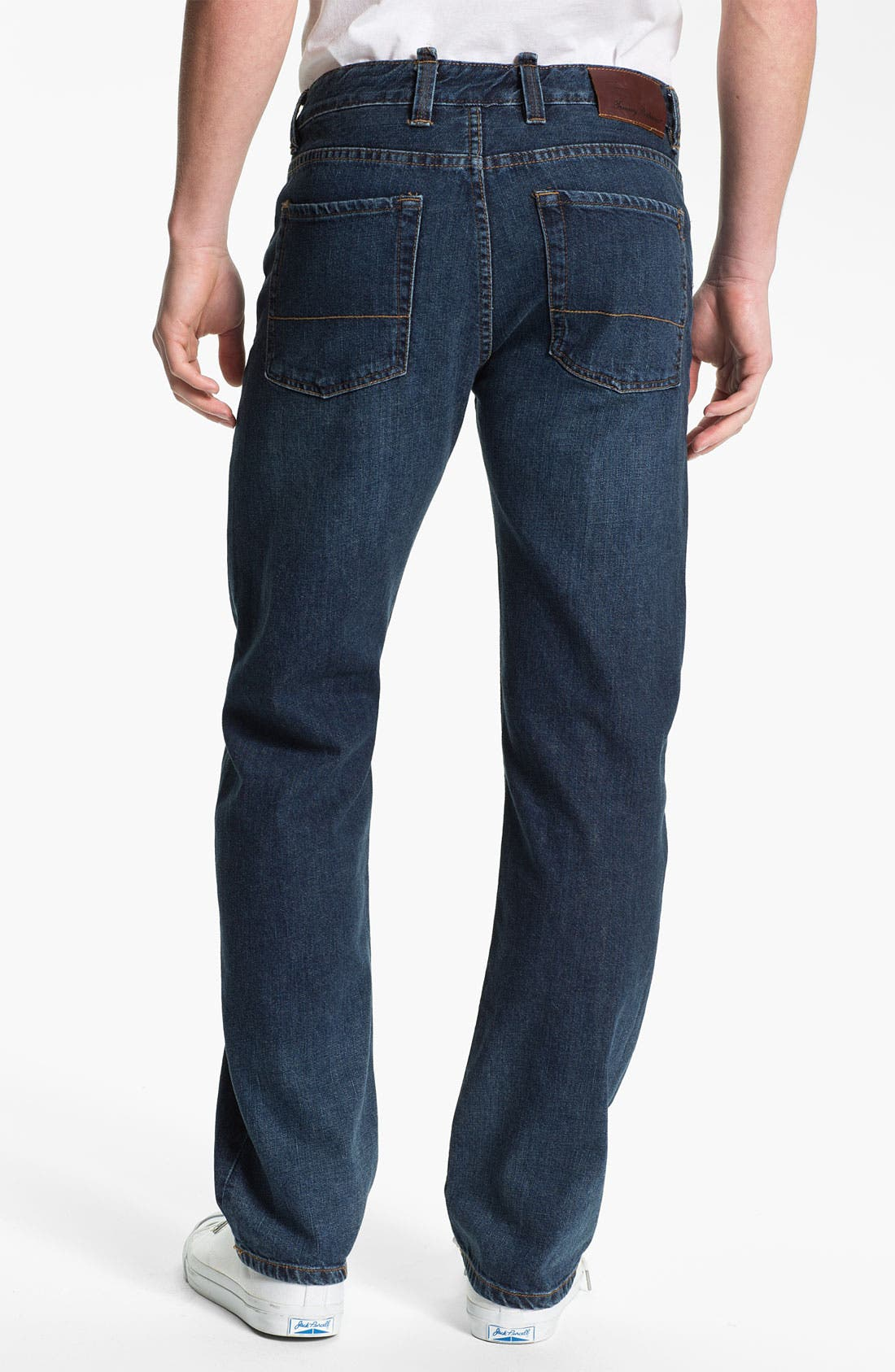 Alternate Image 2  - Tommy Bahama Denim 'Steve Standard Fit' Jeans (Dark)