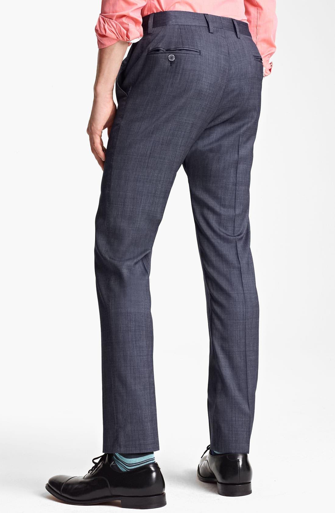 Alternate Image 5  - Paul Smith London Slim Fit Wool & Cotton Suit