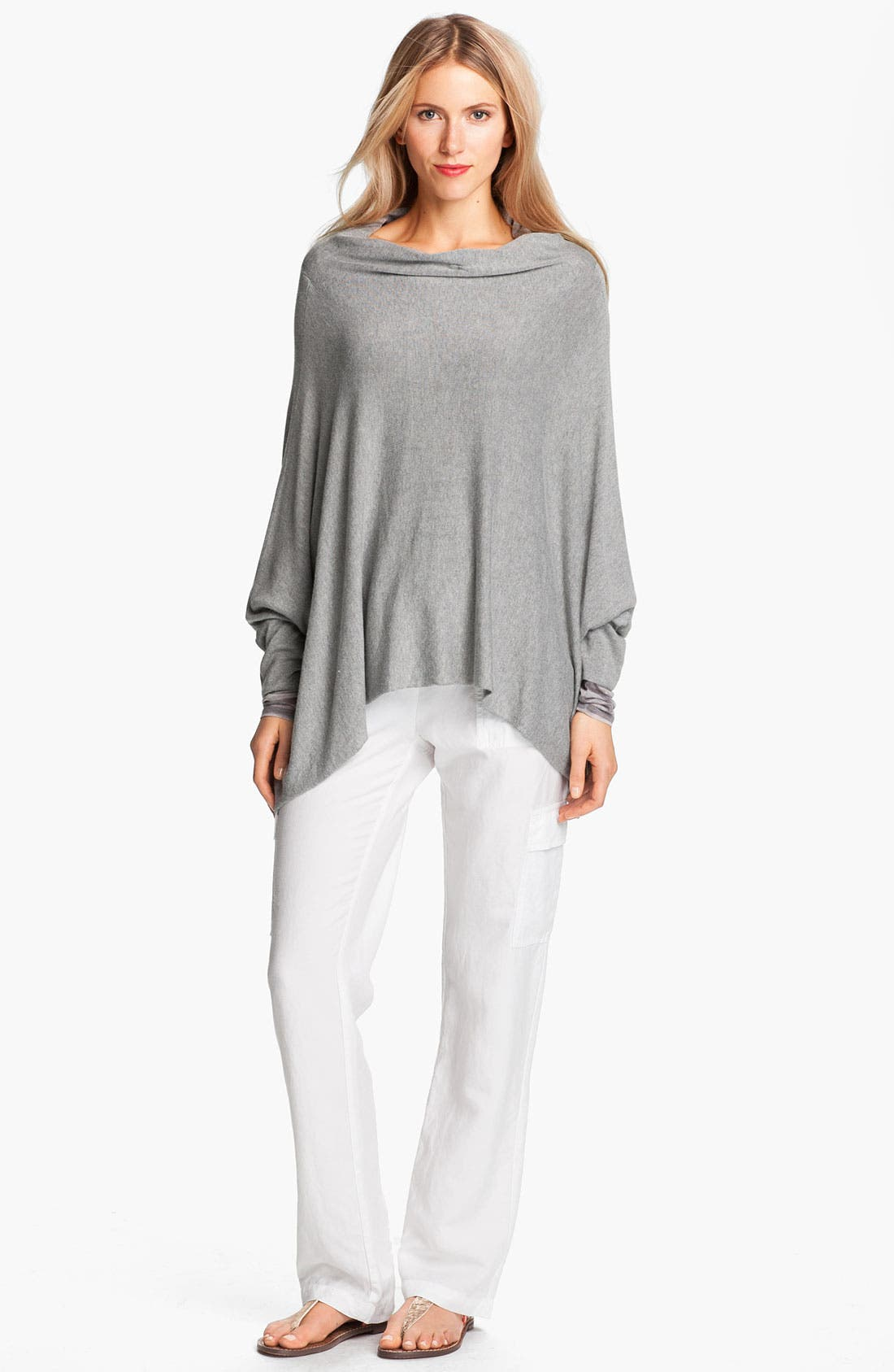 Alternate Image 4  - Eileen Fisher Funnel Neck Sweater