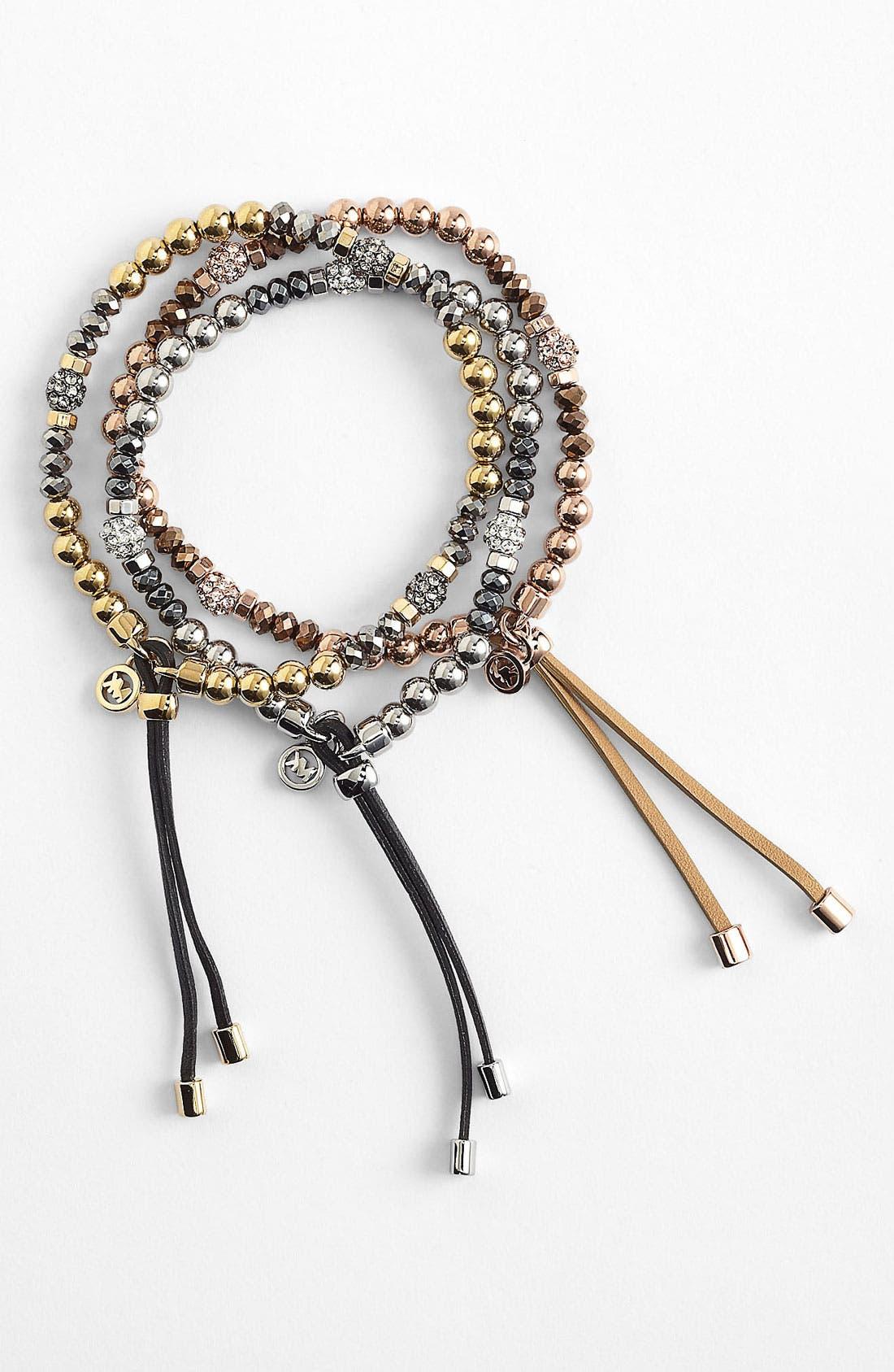 Alternate Image 1 Selected - Michael Kors 'Brilliance' Stretch Bracelet