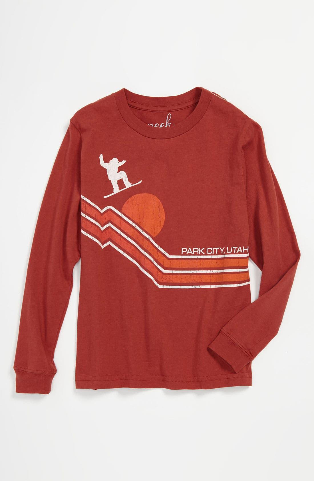 Alternate Image 1 Selected - Peek 'Park City' T-Shirt (Toddler, Little Boys & Big Boys)
