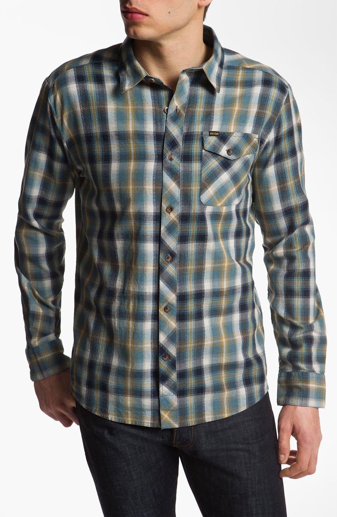 Alternate Image 1 Selected - Volcom 'Cruz' Woven Shirt