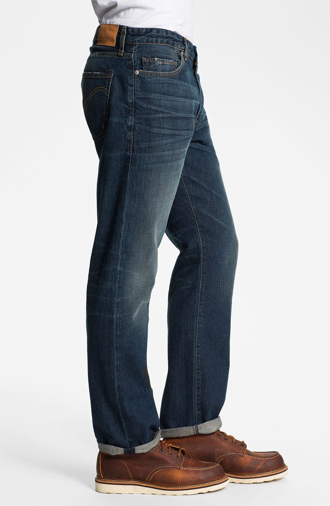 Alternate Image 3  - Levi's® Made & Crafted™ 'Cutter' Relaxed Straight Leg Jeans (Vernon)