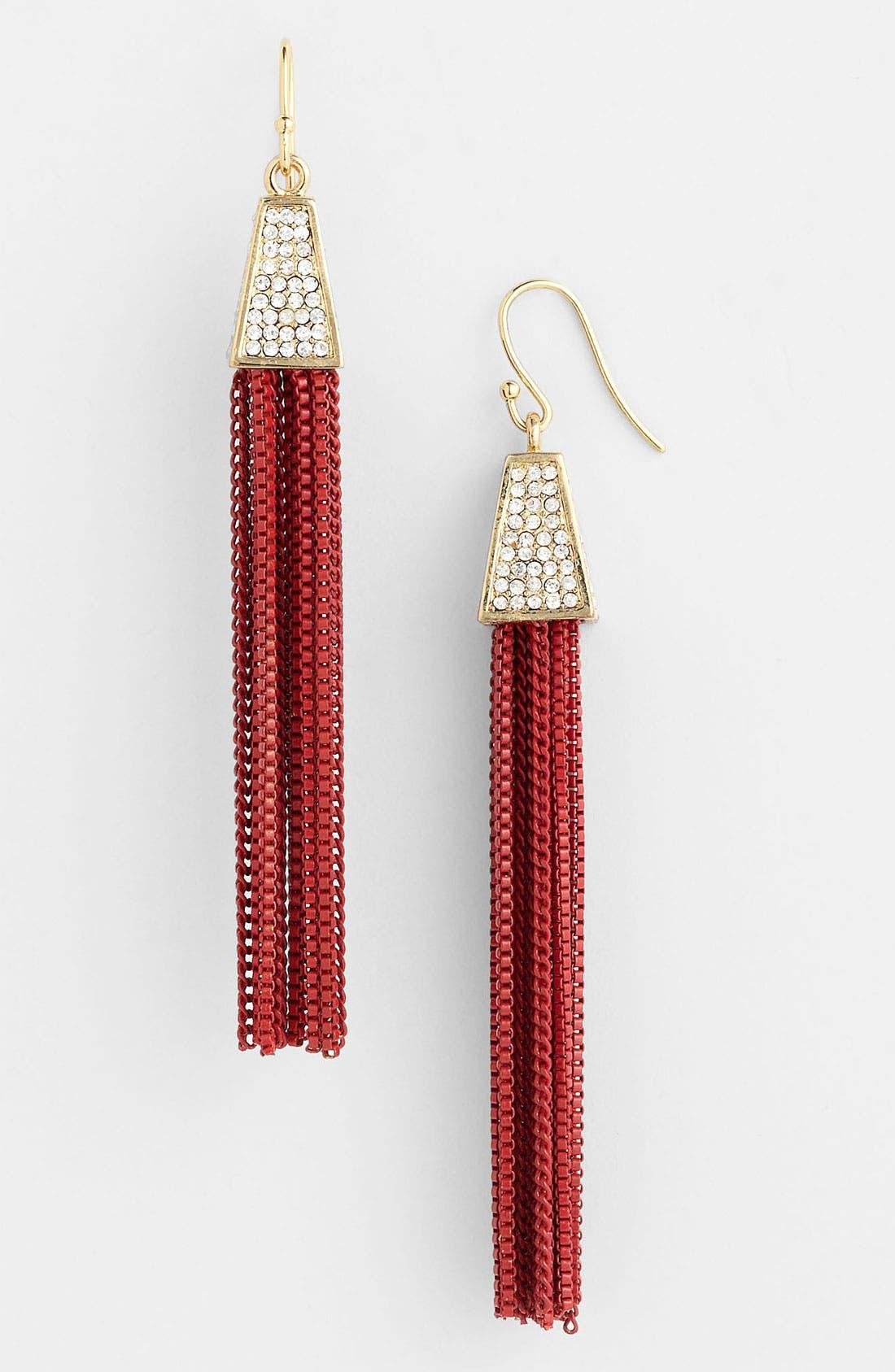 Main Image - Vince Camuto Tassel Earrings