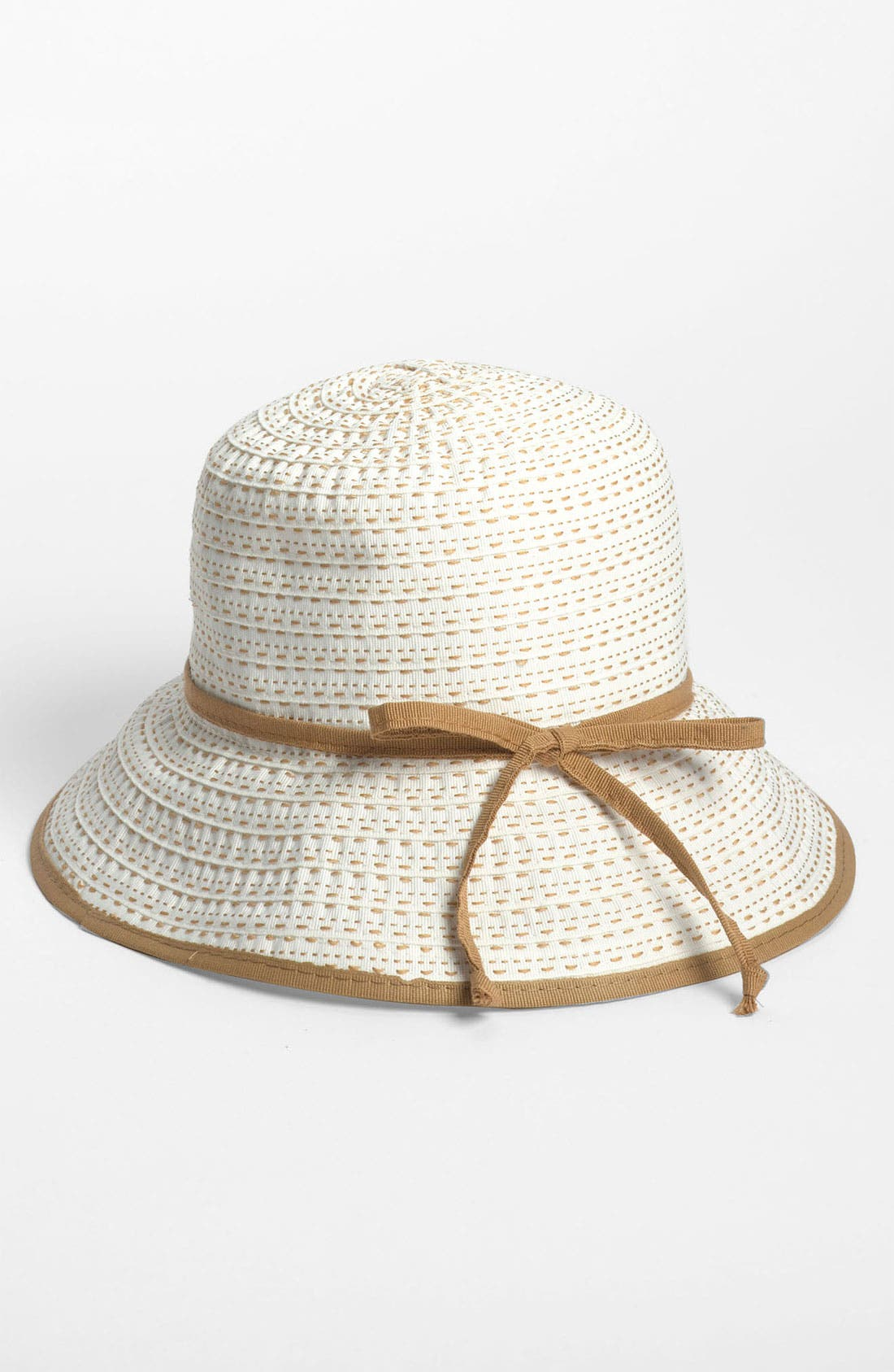 Alternate Image 1 Selected - Nordstrom Ribbon Plaited Cloche