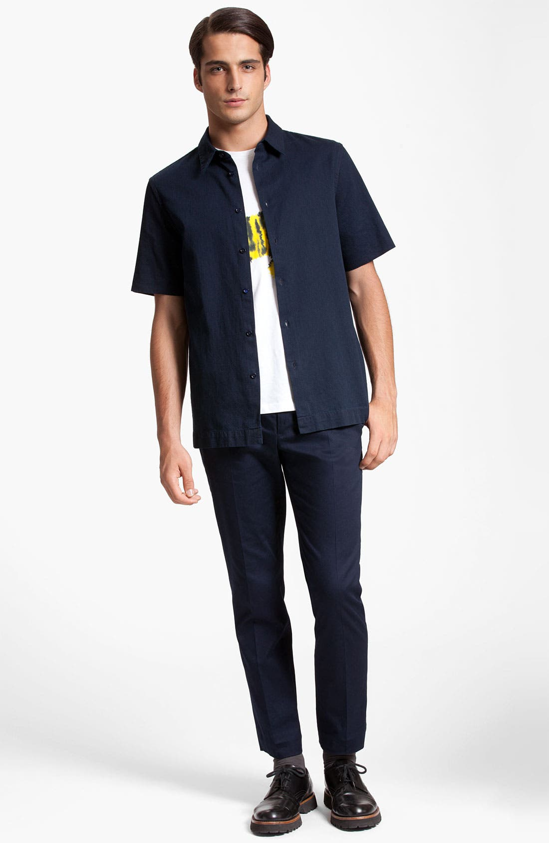 Alternate Image 4  - Marni Short Sleeve Denim Shirt
