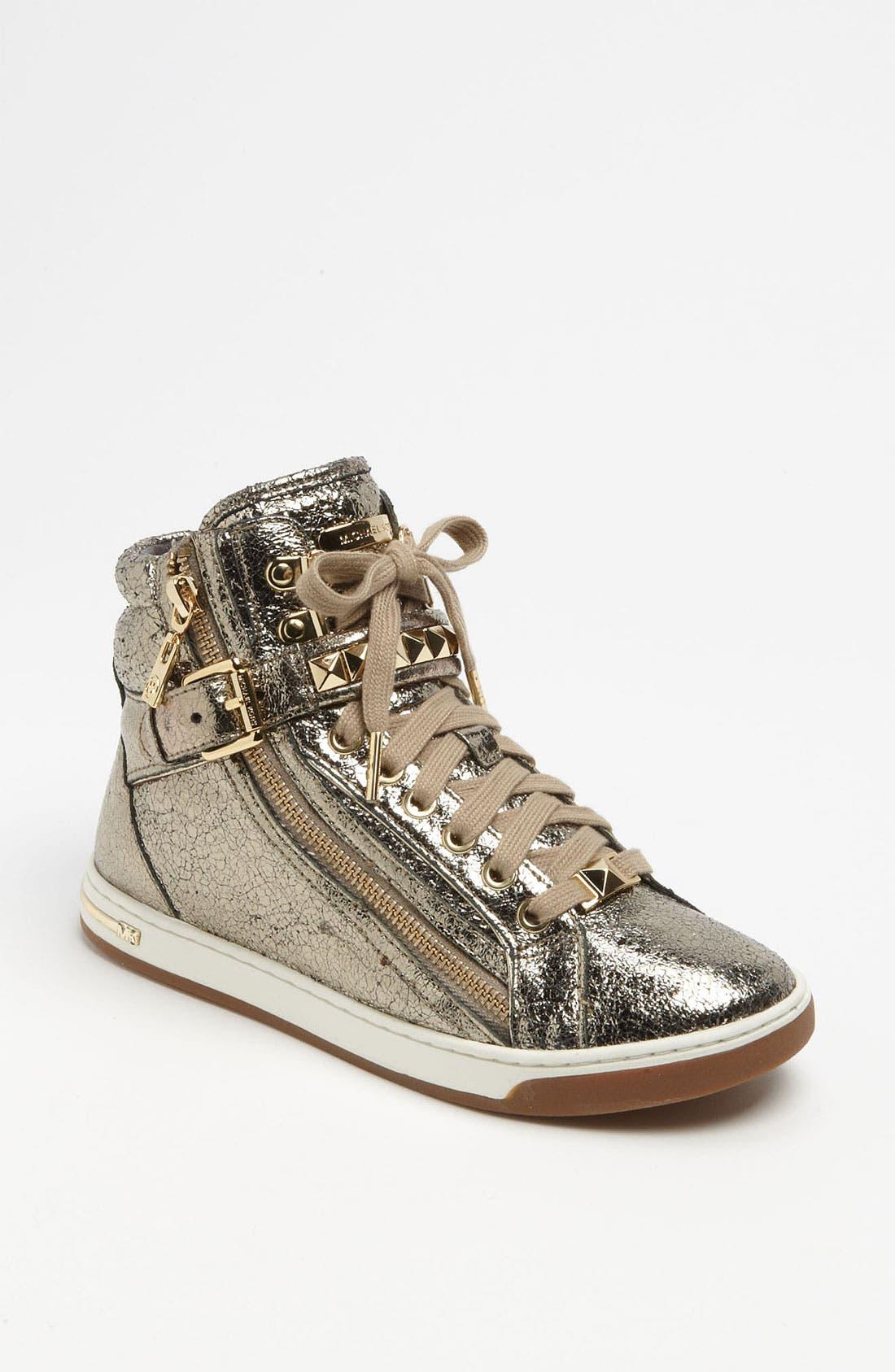 Alternate Image 1 Selected - MICHAEL Michael Kors 'Glam' High Top Sneaker