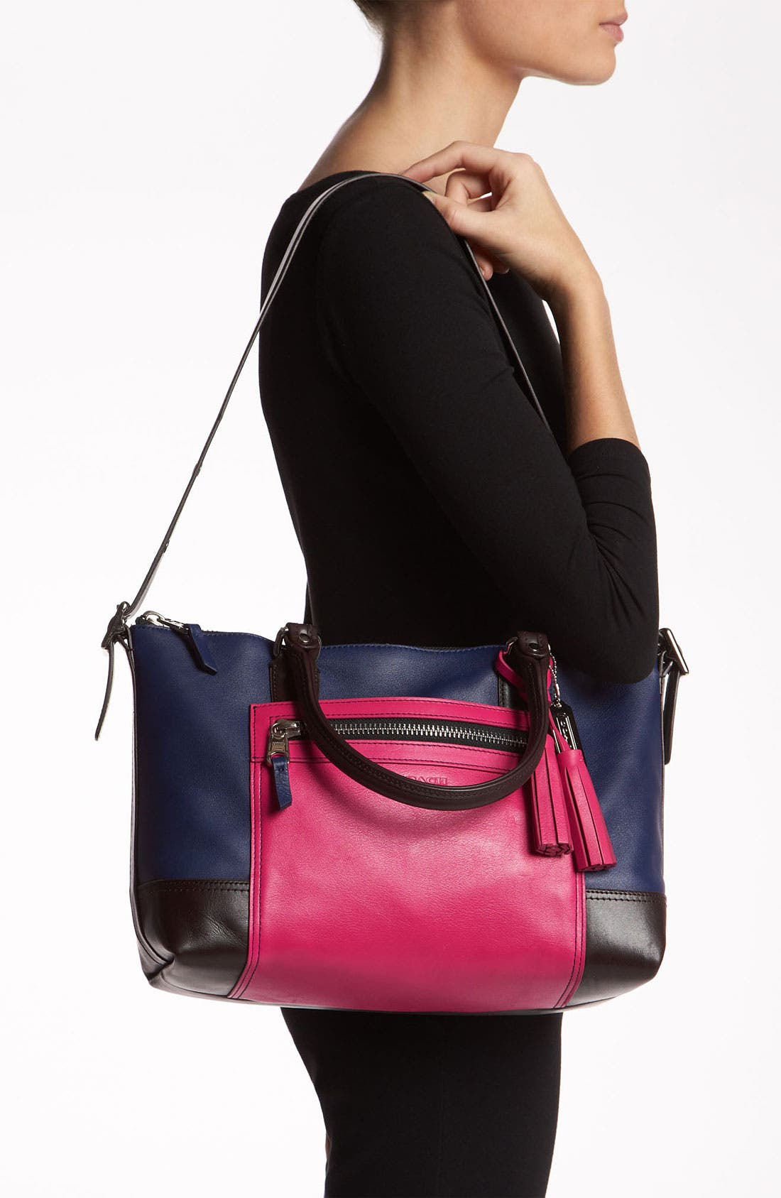 Alternate Image 2  - COACH 'Legacy Colorblock Molly' Leather Satchel