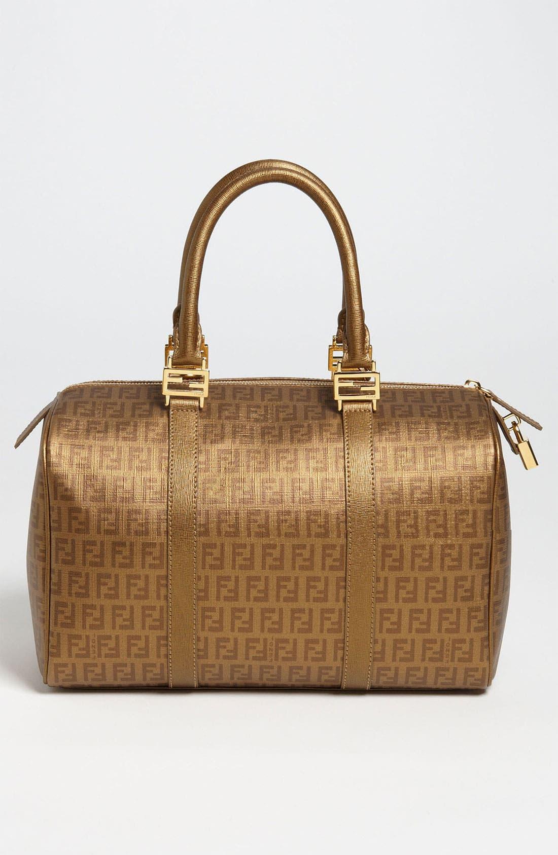 Alternate Image 4  - Fendi 'Forever - Large' Boston Bag