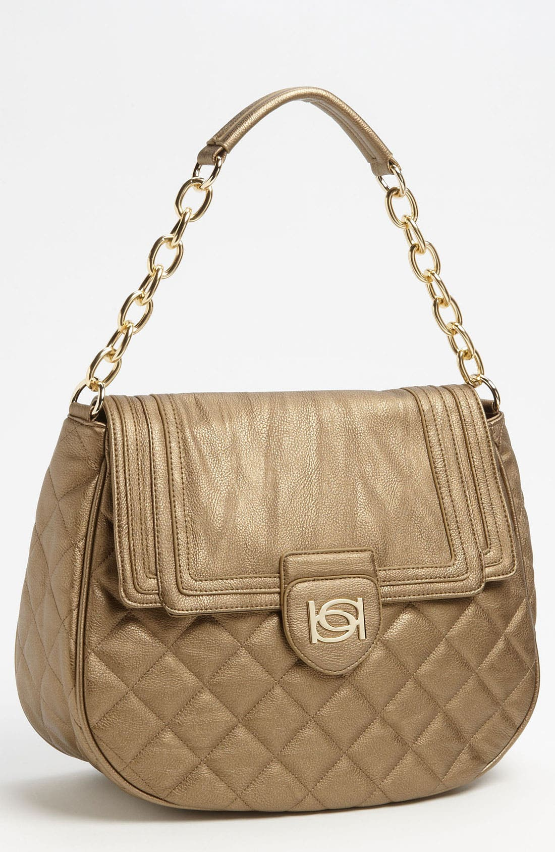 Alternate Image 1 Selected - bebe 'Diandra' Quilted Hobo