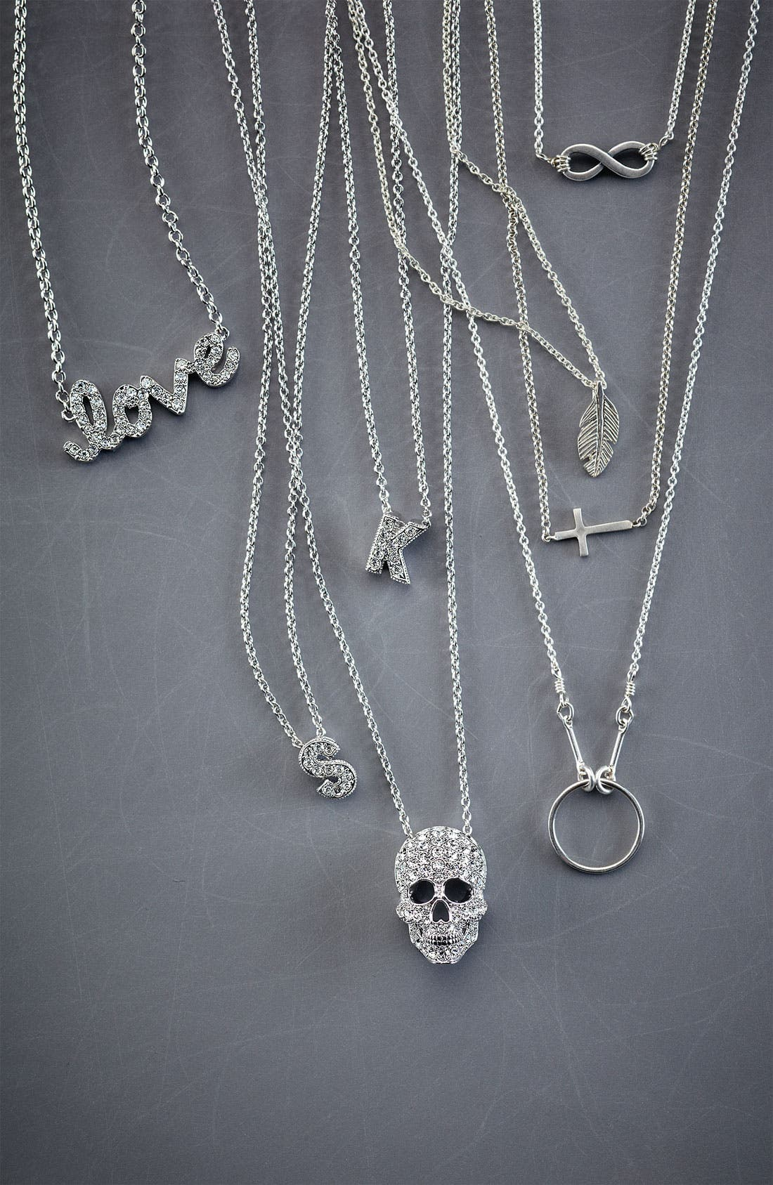 Alternate Image 3  - Nadri 'Skull' Pendant Necklace (Nordstrom Exclusive)