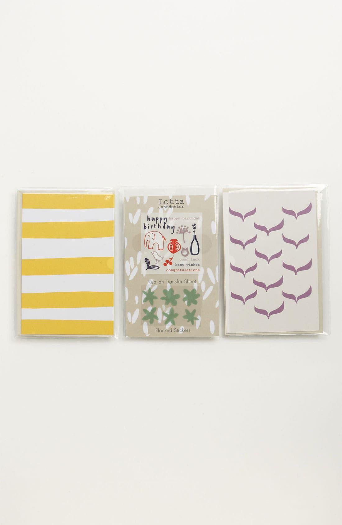 Alternate Image 2  - Blank Note Cards (Set of 4)