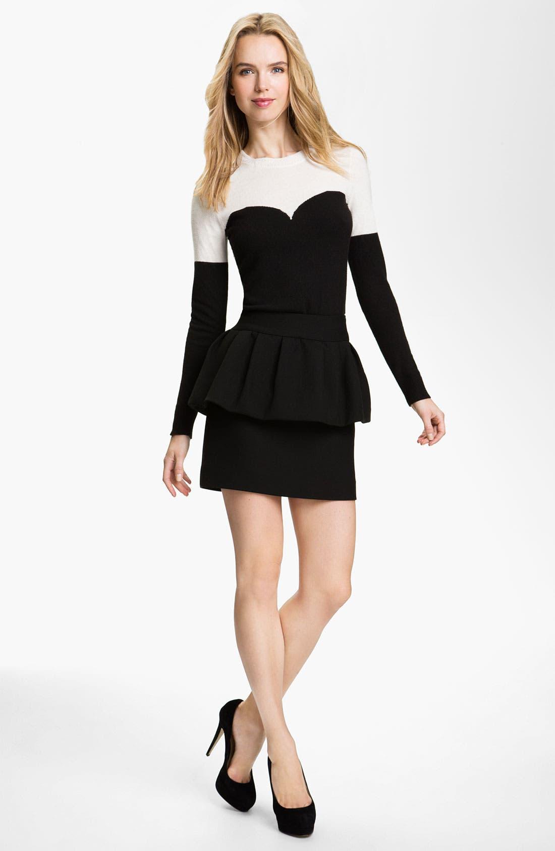 Alternate Image 3  - Milly 'Laurel' Peplum Skirt