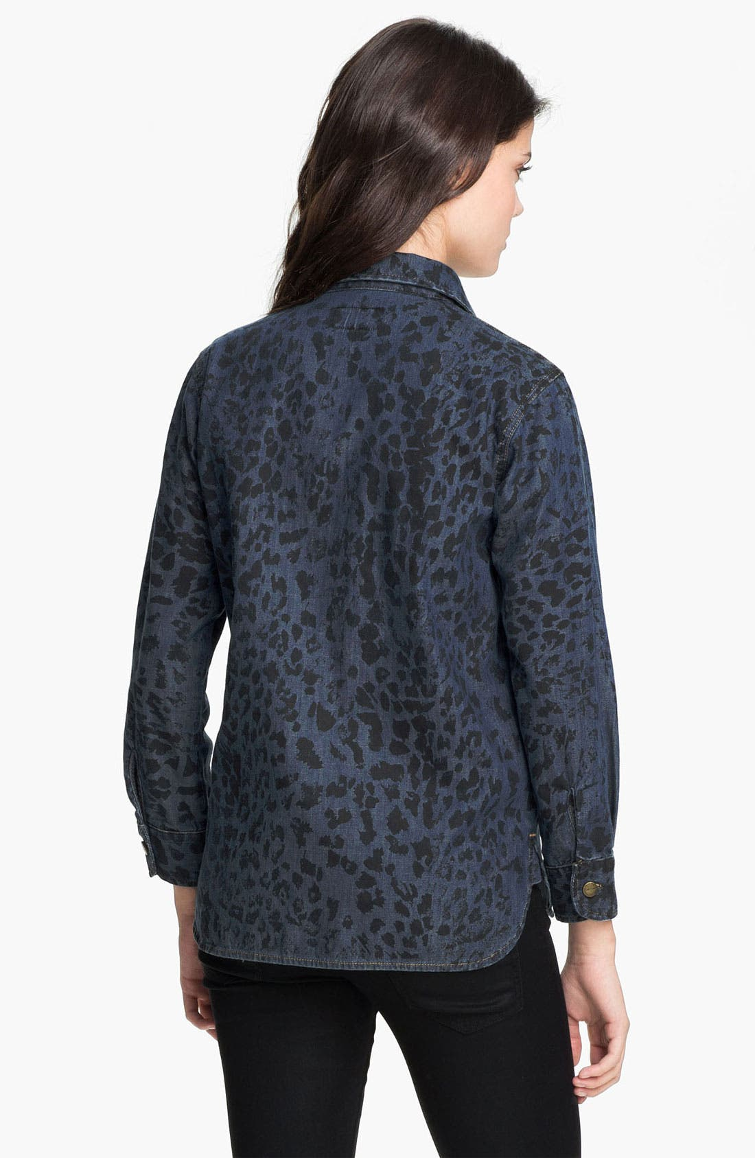 Alternate Image 2  - Current/Elliott 'The Perfect' Denim Shirt