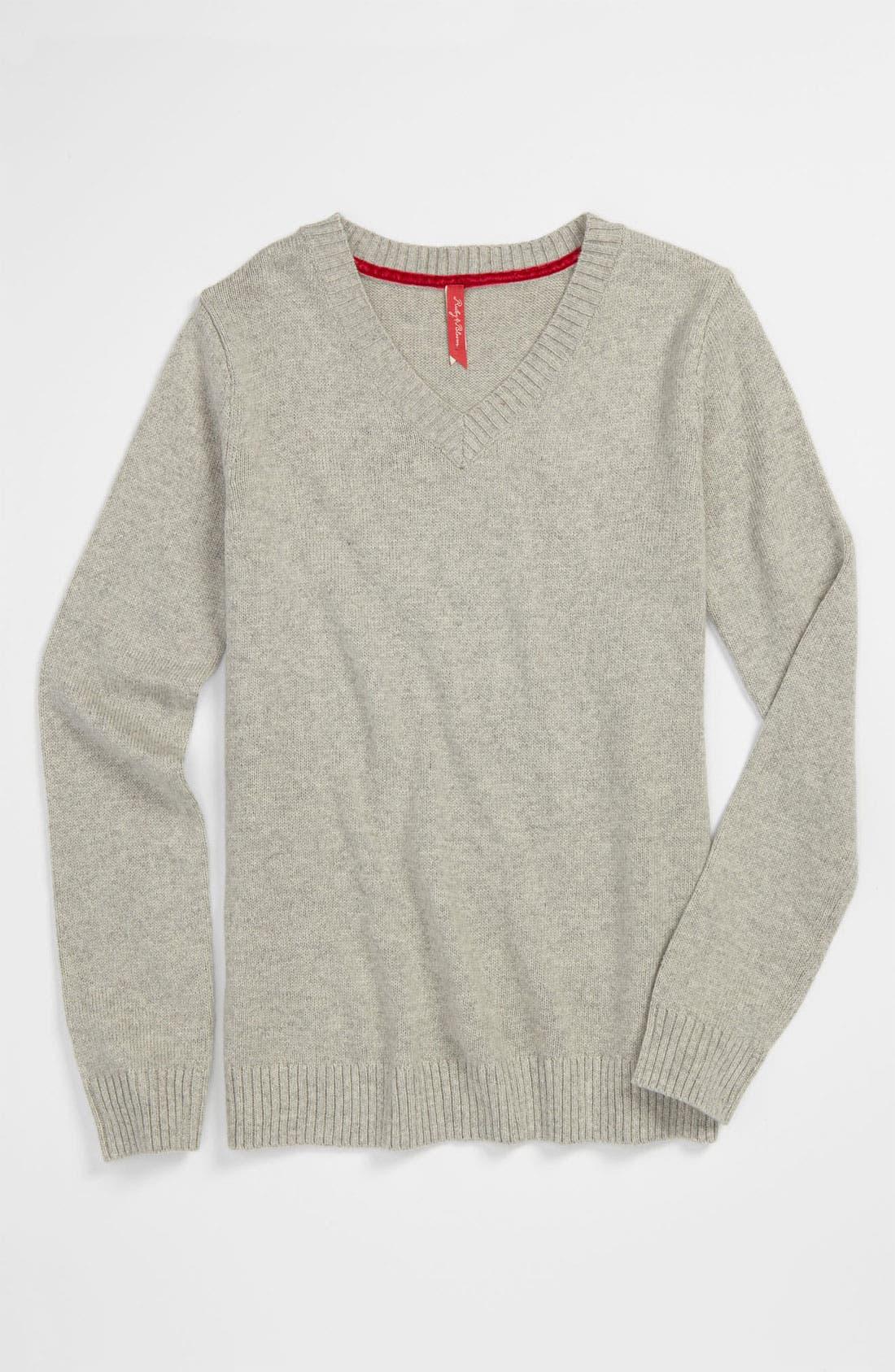 Main Image - Ruby & Bloom 'Robin' Sweater (Big Girls)