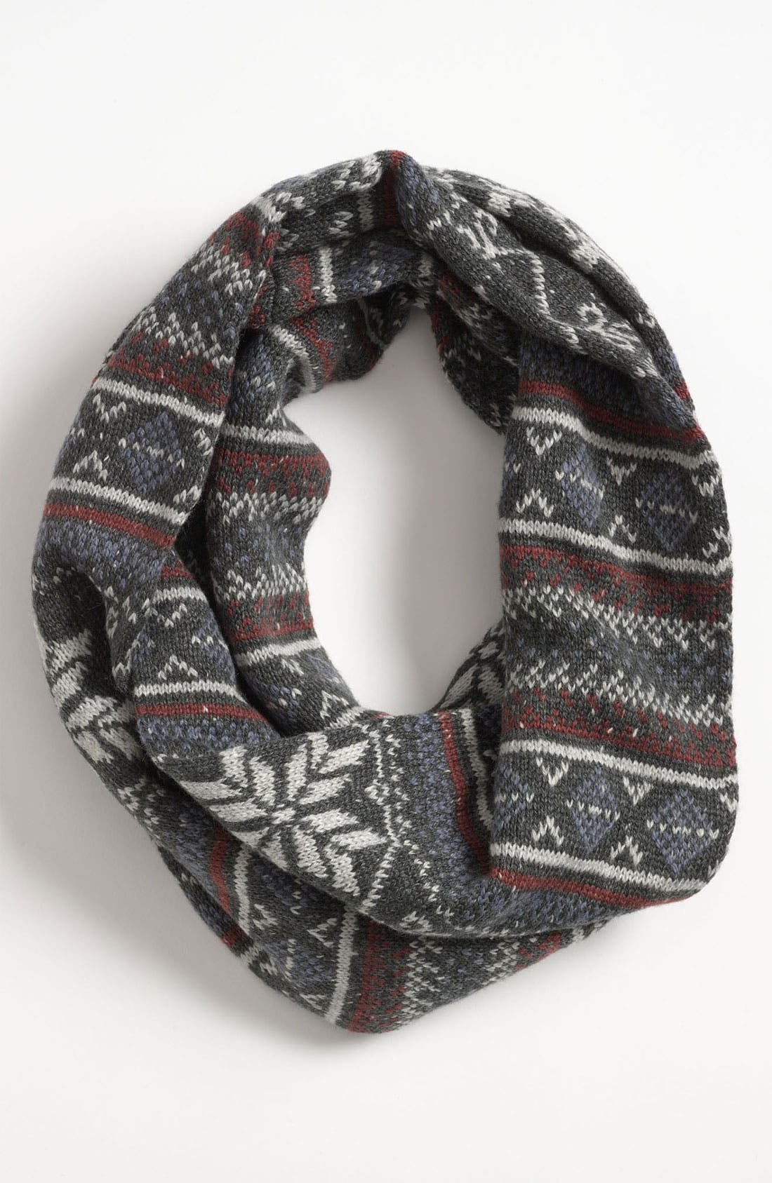 Alternate Image 1 Selected - Topman Nordic Pattern Infinity Scarf