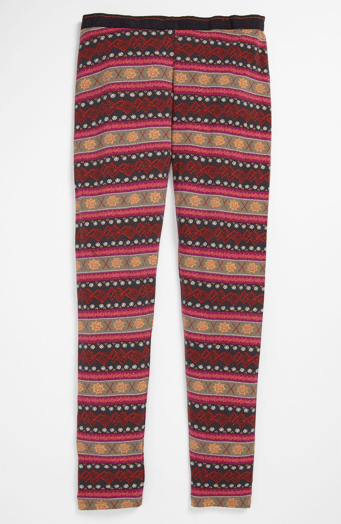 Alternate Image 1 Selected - Alternative Print Leggings (Big Girls)