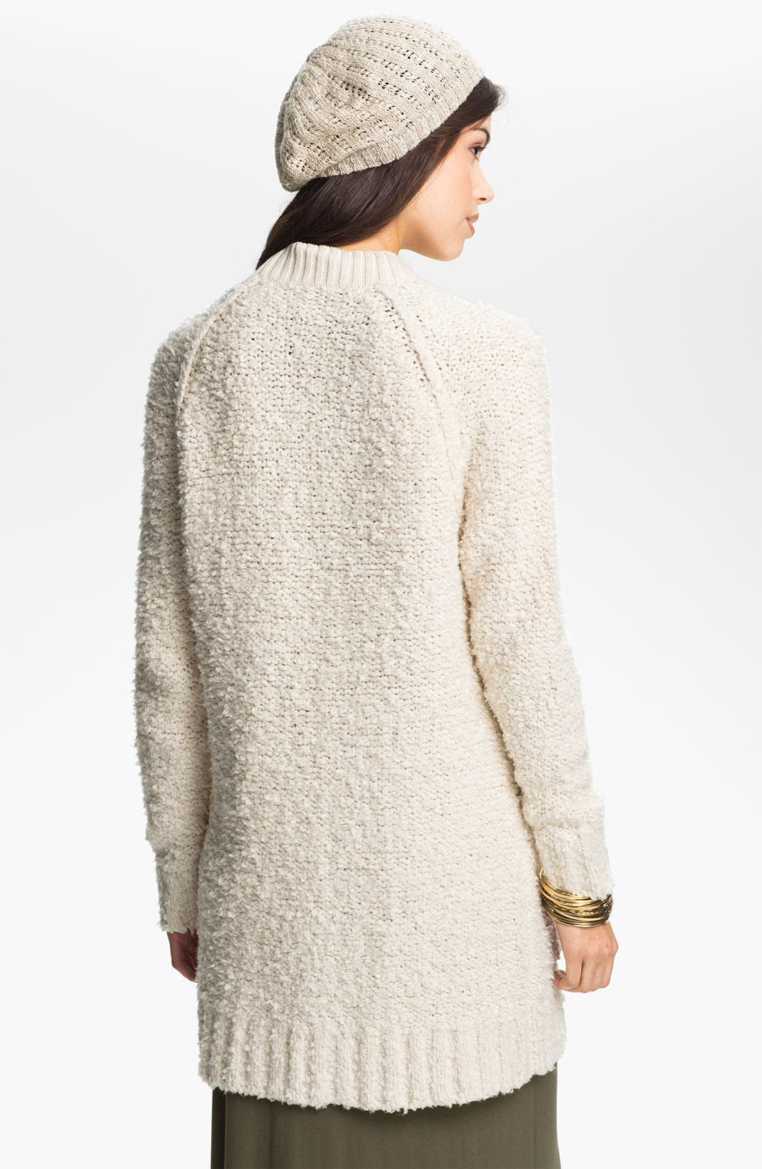 Alternate Image 2  - Rubbish® Bouclé Oversized Cardigan (Juniors)