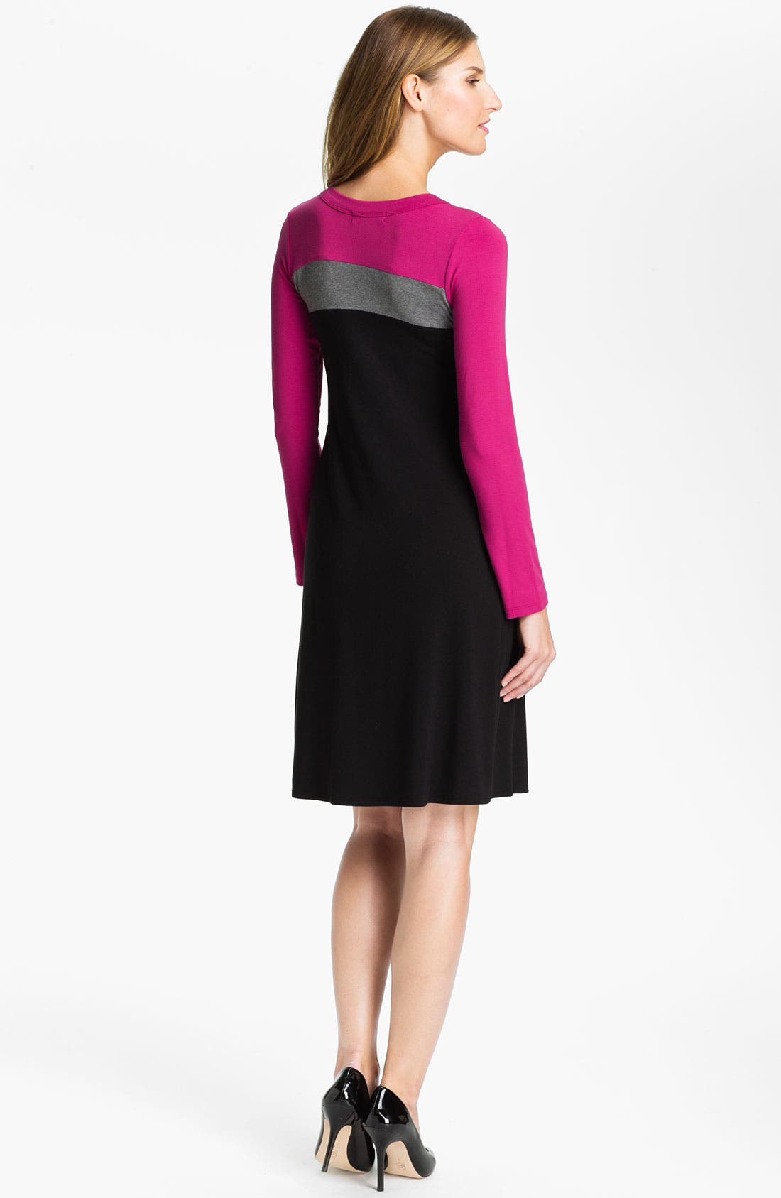 Alternate Image 2  - Karen Kane Colorblock Dress (Online Exclusive)