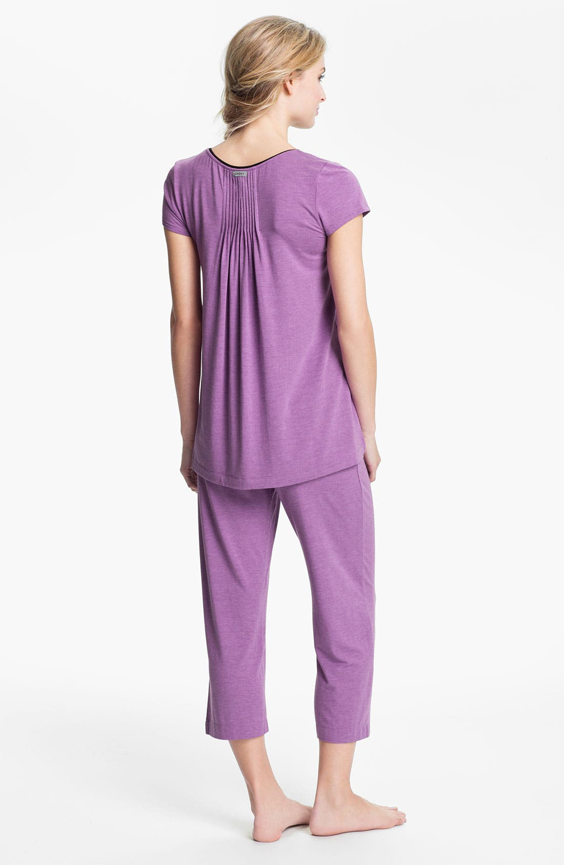 Alternate Image 5  - DKNY '7 Easy Pieces' Capri Pants