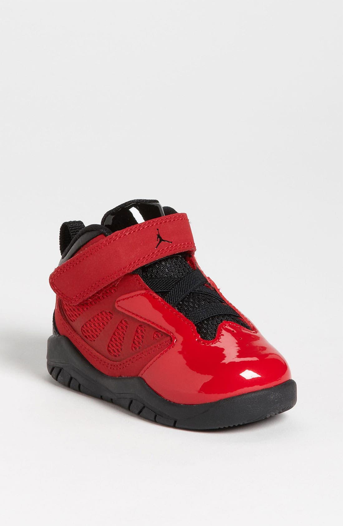 Alternate Image 1 Selected - Nike 'Jordan Flight Team 11' Basketball Shoe (Baby, Walker & Toddler)