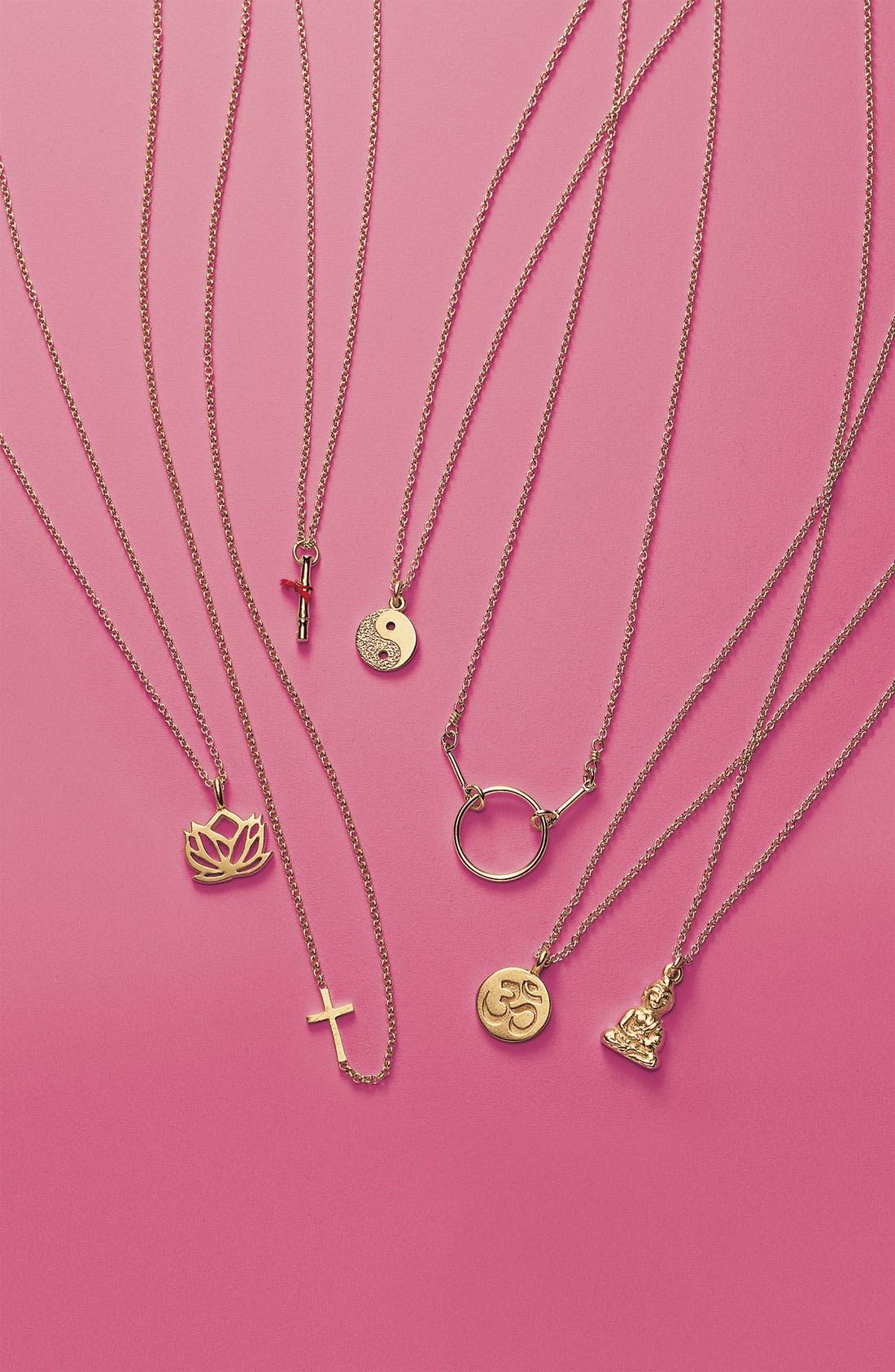 Alternate Image 3  - Dogeared 'Namaste Buddha' Pendant Necklace (Nordstrom Exclusive)