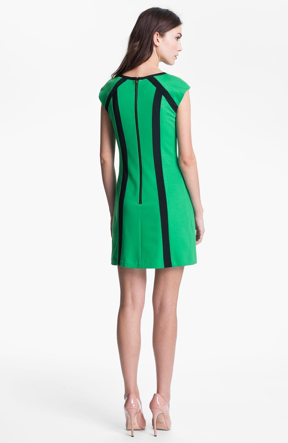 Alternate Image 2  - Nanette Lepore 'Underground' A-Line Minidress