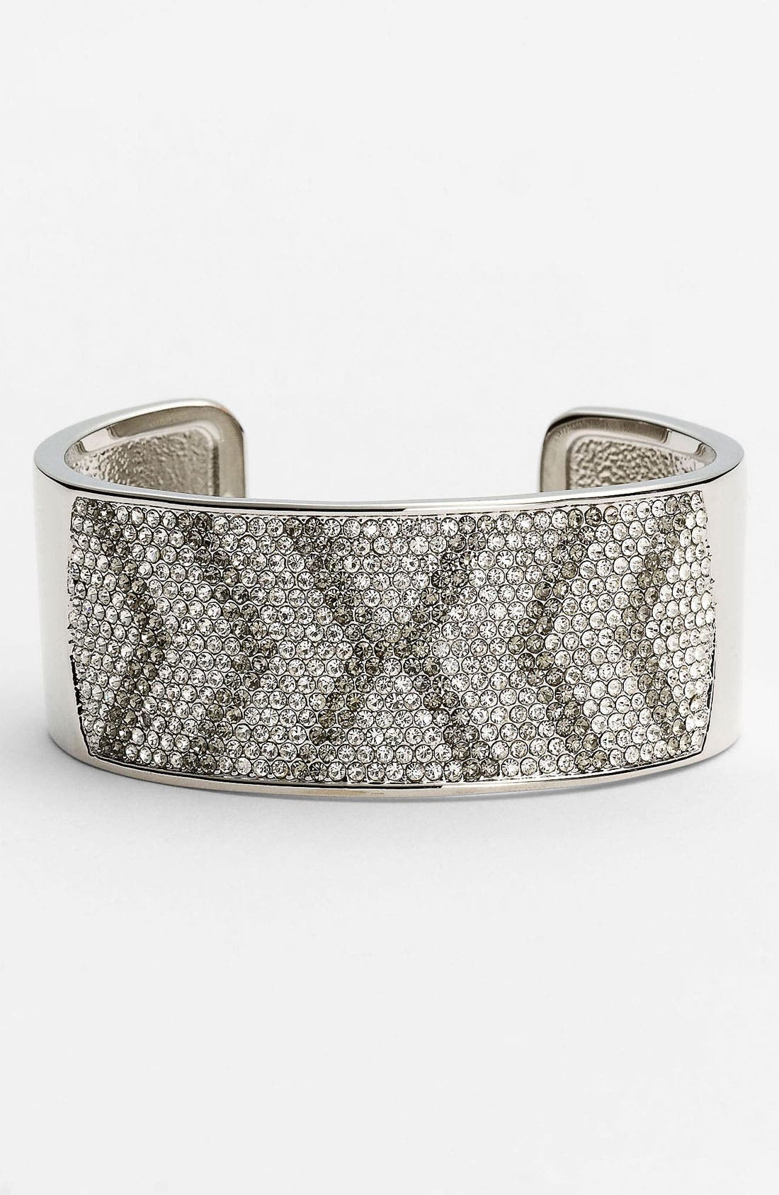 Alternate Image 1 Selected - Vince Camuto Pavé Chevron Cuff
