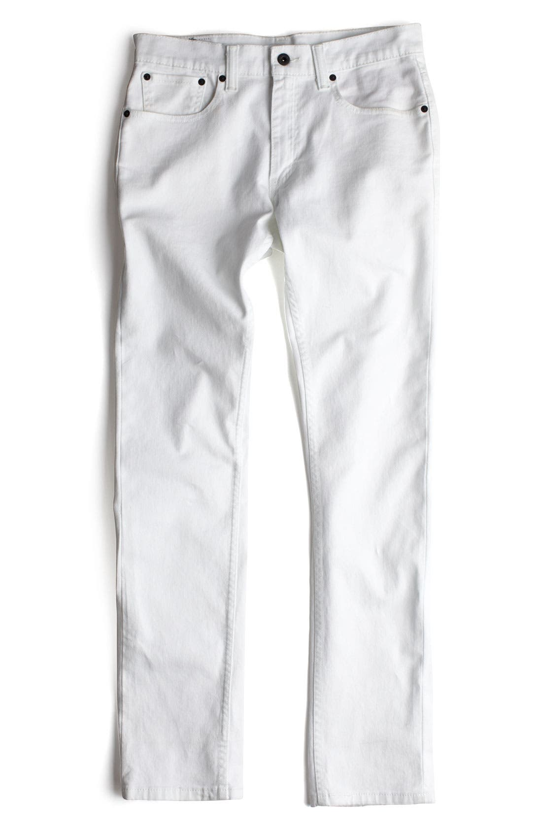 Alternate Image 5  - Levi's® '511™' Skinny Jeans (White)