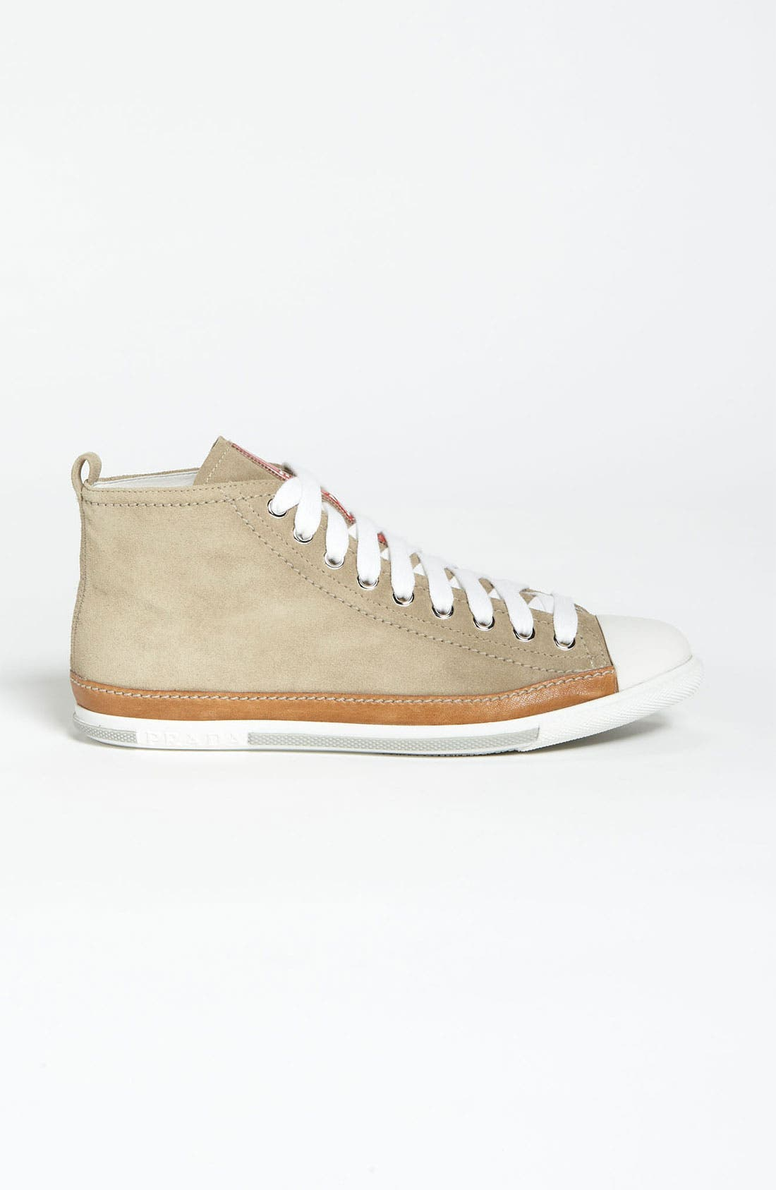 Alternate Image 4  - Prada High Top Sneaker