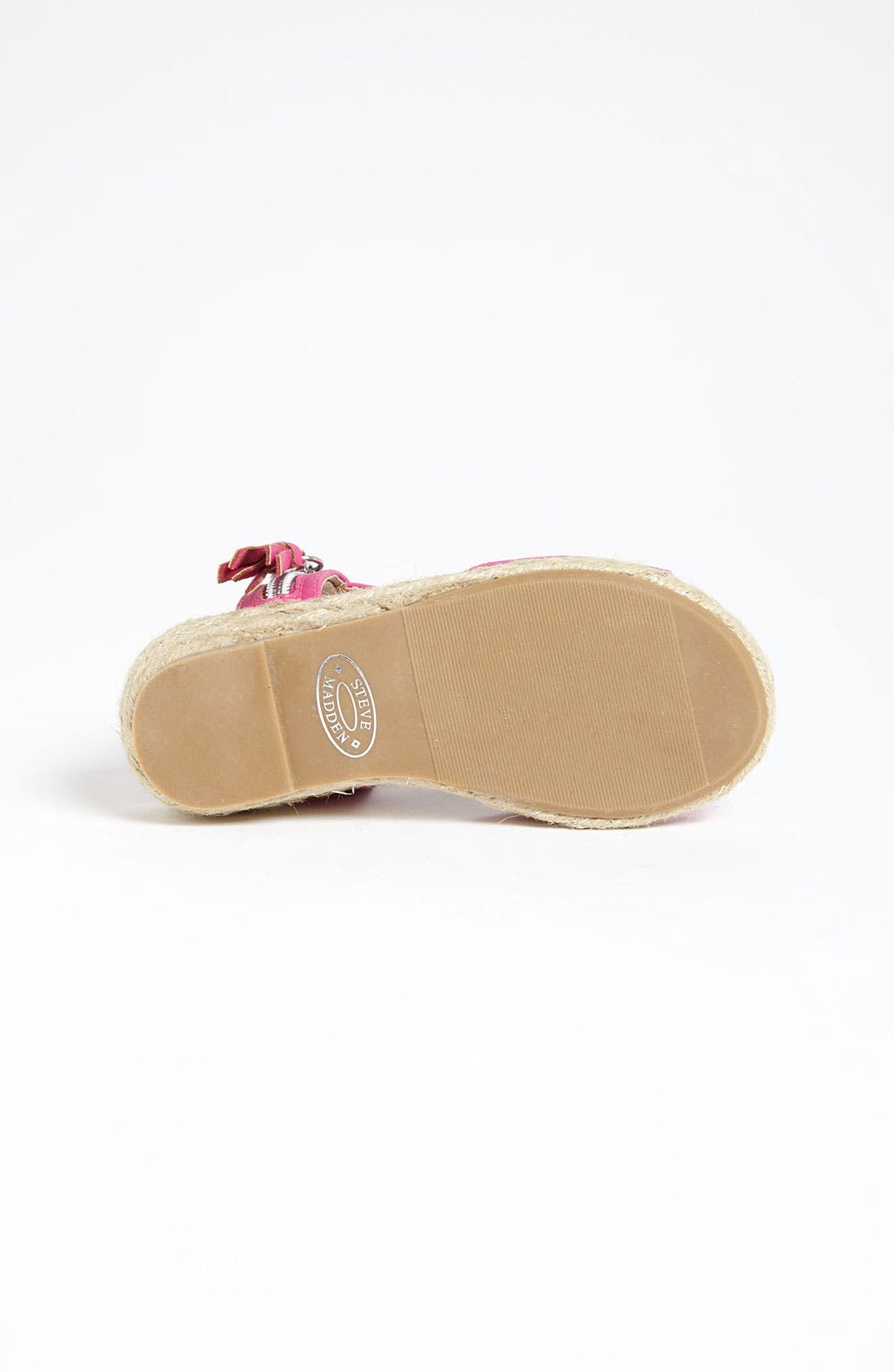 Alternate Image 4  - Steve Madden 'Camile' Wedge (Toddler, Little Kid & Big Kid)