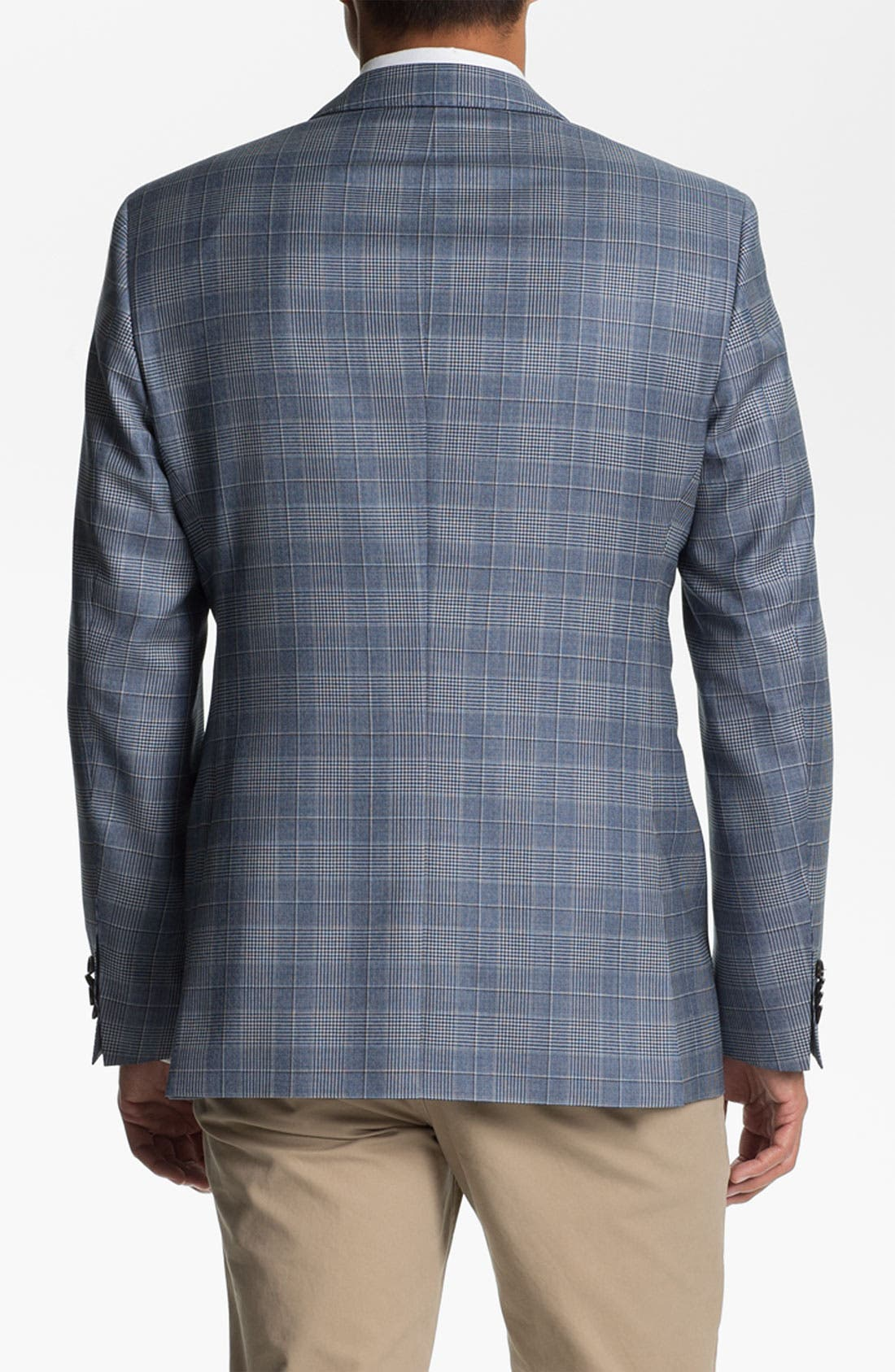 Alternate Image 2  - BOSS Black 'James' Trim Fit Plaid Sportcoat