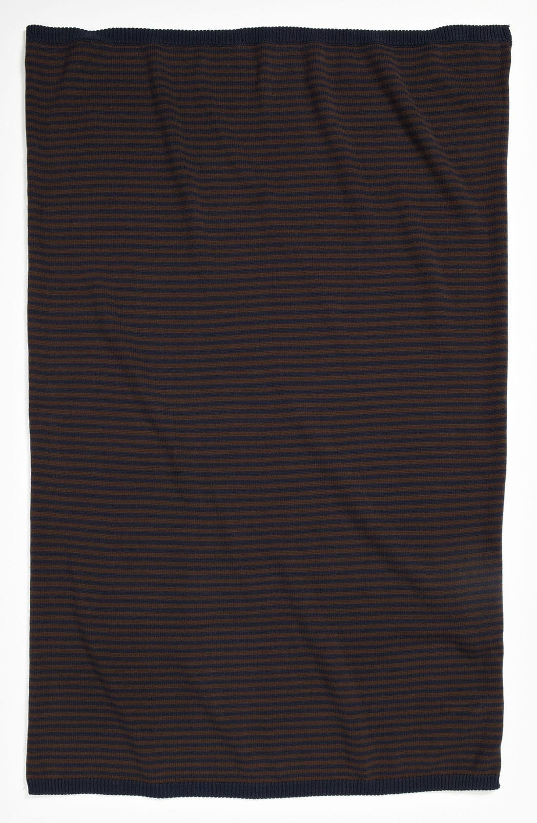 Main Image - Nordstrom Baby Stripe Sweater Knit Blanket (Infant)