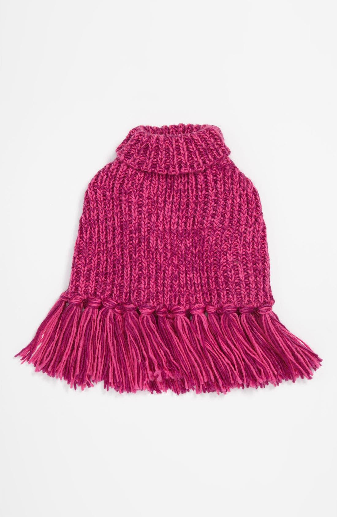 Alternate Image 1 Selected - Echo Knit Poncho (Girls)