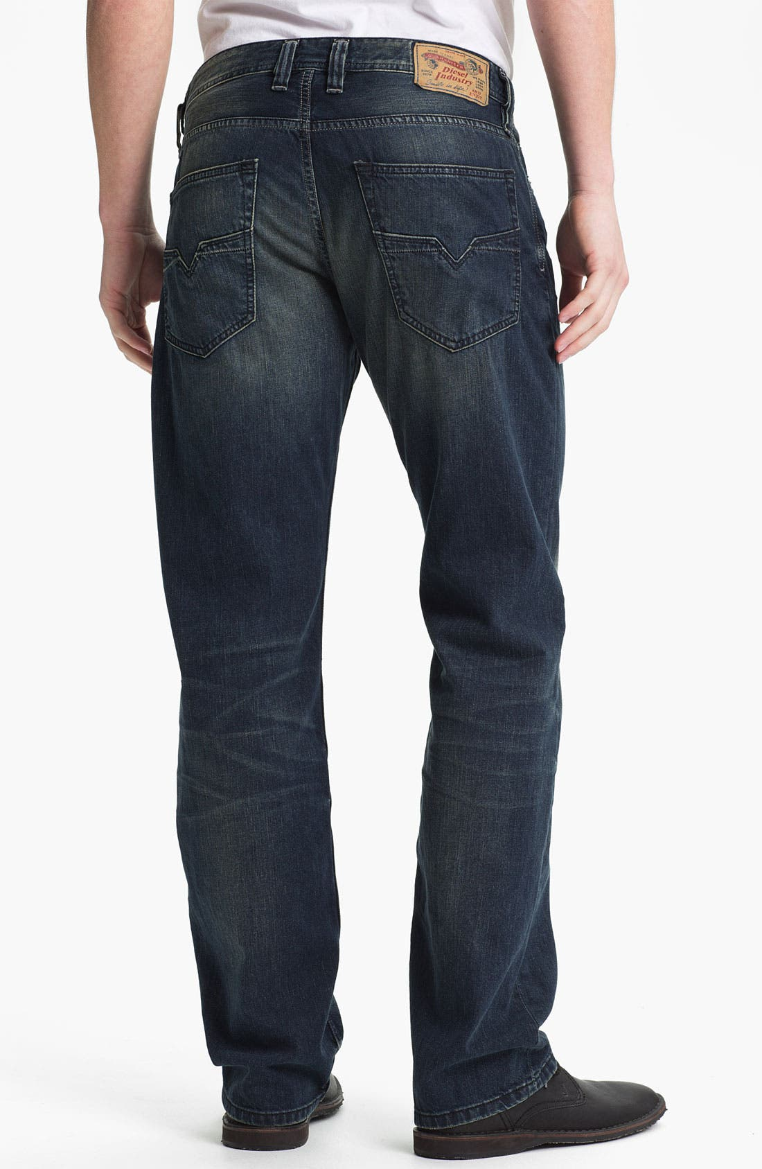 Alternate Image 1 Selected - DIESEL® 'Larkee' Straight Leg Jeans (0807U)