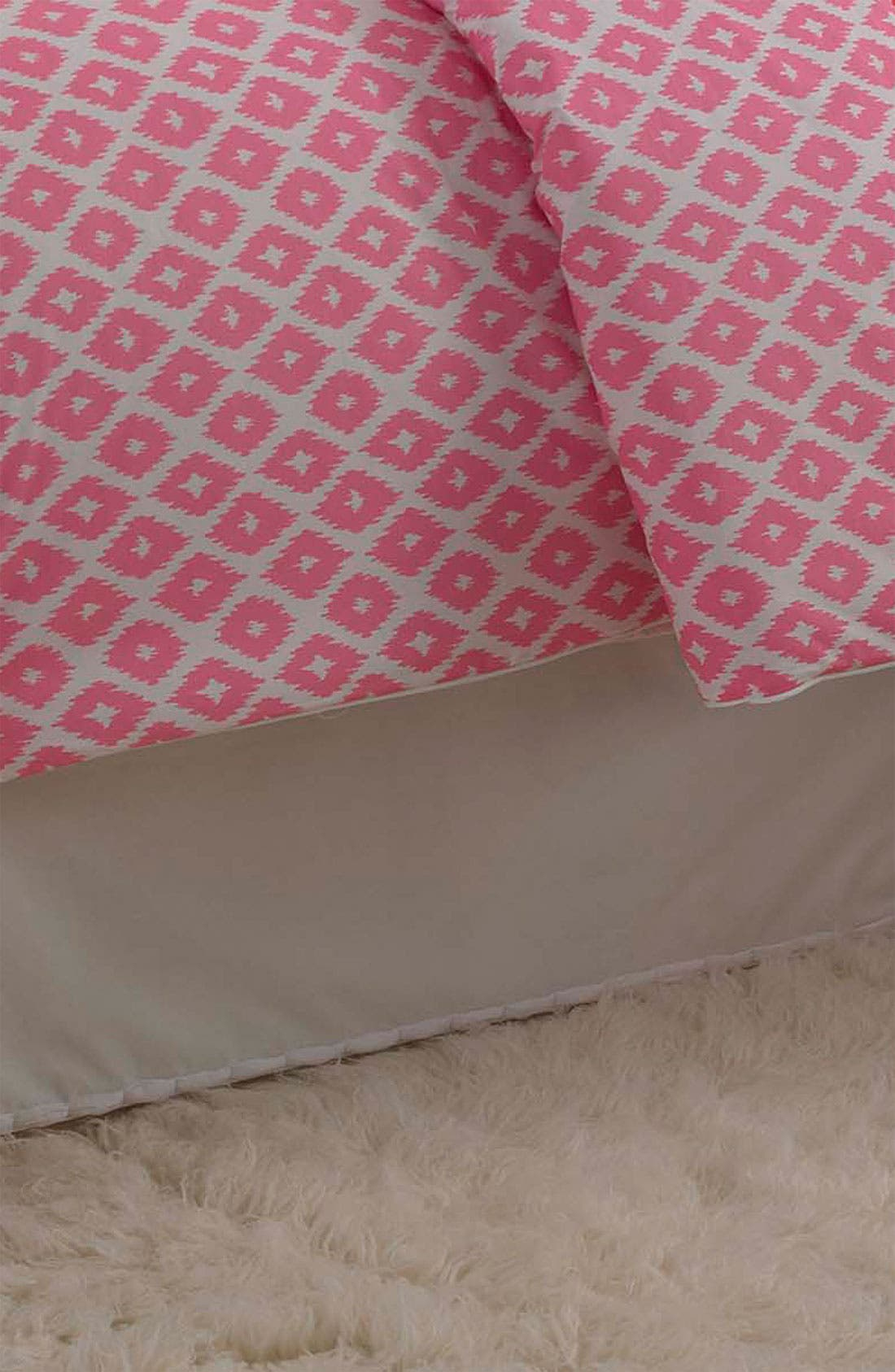Main Image - Dena Home 'Ikat Blossom' Bed Skirt