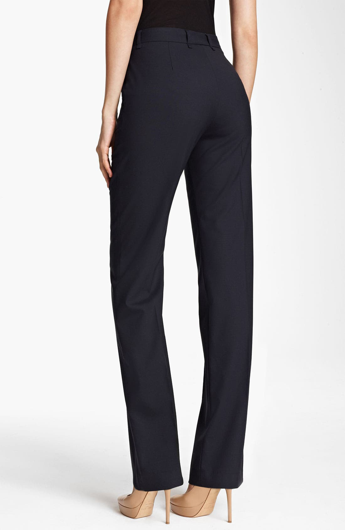 Alternate Image 2  - Fabiana Filippi Narrow Leg Wool Pants