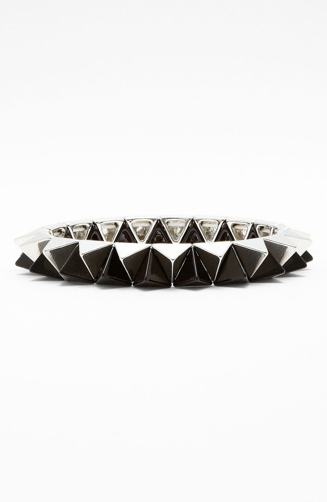 Alternate Image 1 Selected - Cara Pyramid Stretch Bracelet