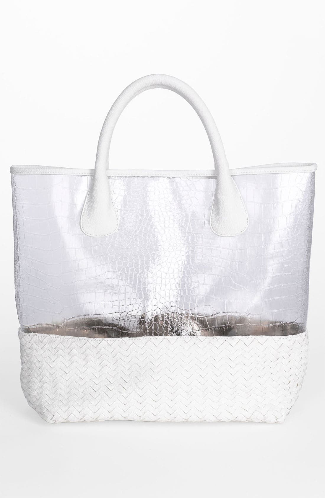 Alternate Image 4  - Deux Lux 'Mykonos' Clear Tote