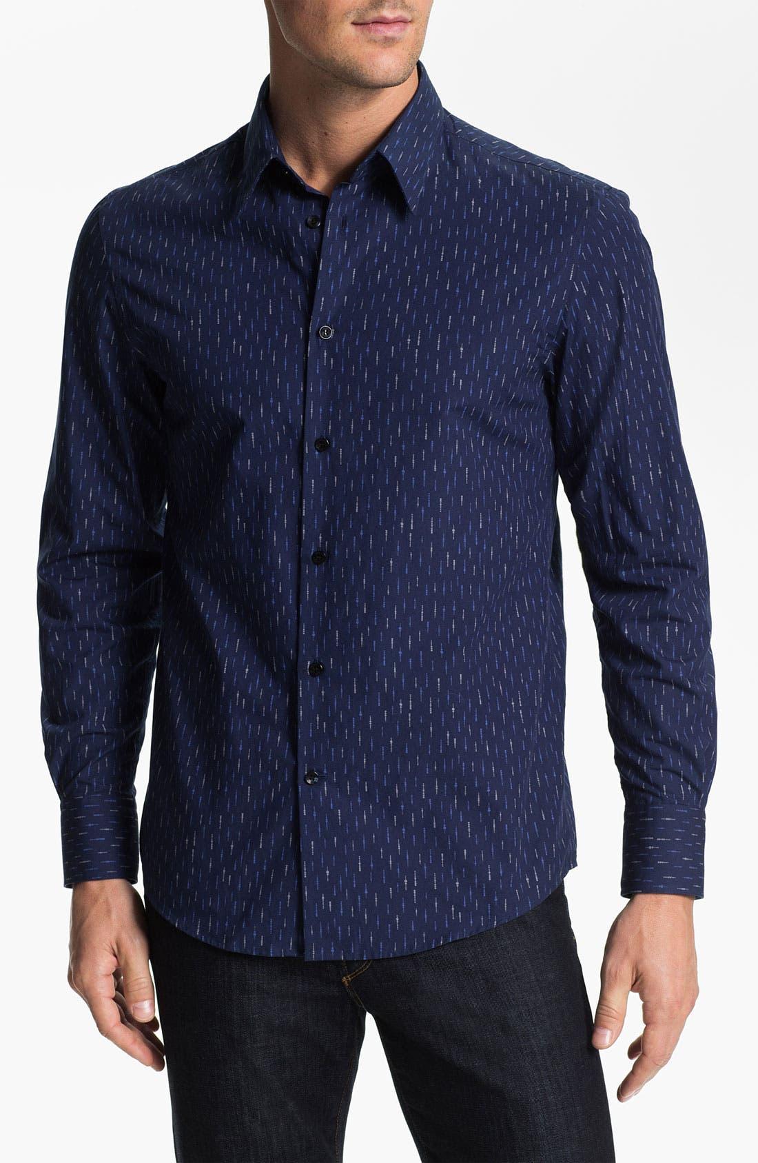 Alternate Image 1 Selected - Versace Trim Fit Sport Shirt