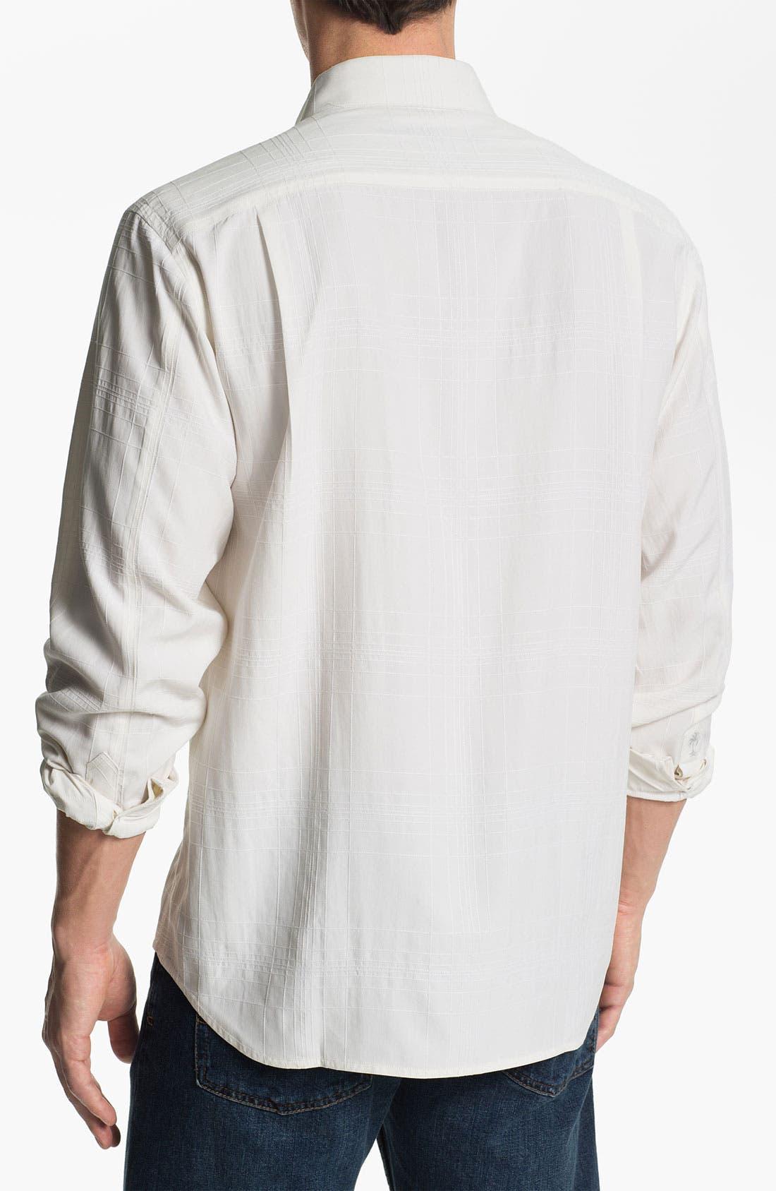 Alternate Image 2  - Tommy Bahama 'Skyscraper' Silk Sport Shirt (Big & Tall)